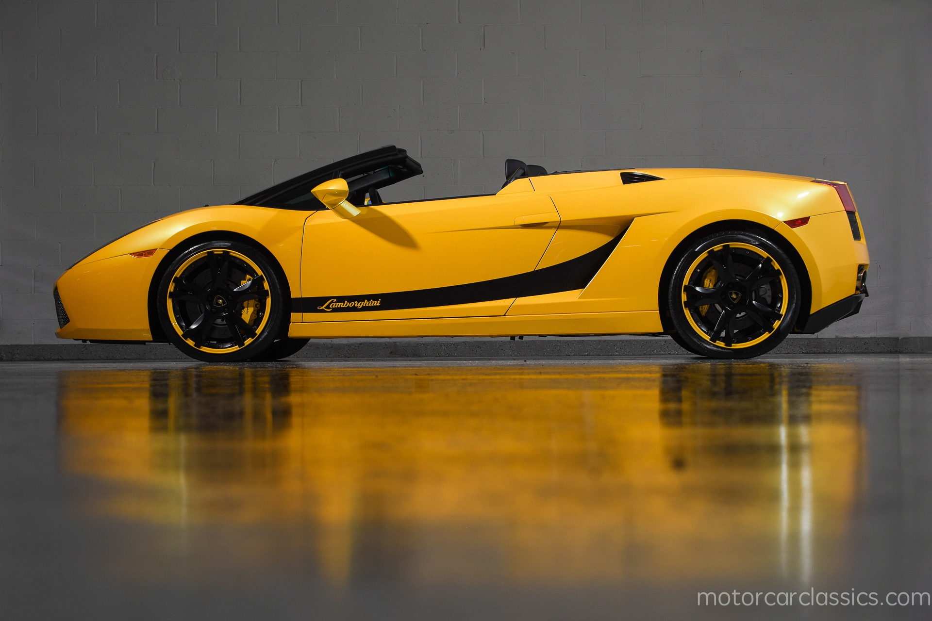 Used 2008 Lamborghini Gallardo Spyder For Sale 119 900 Motorcar