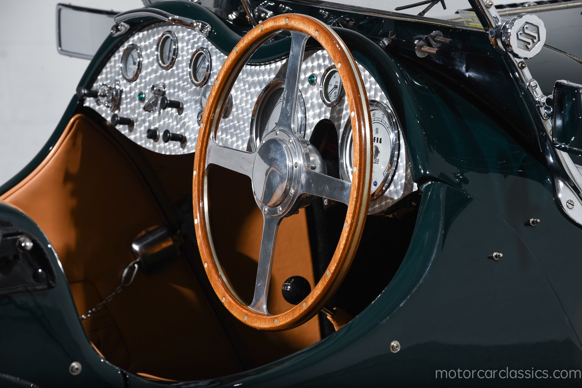 1937 Jaguar SS-Series SS100 3.5L Roadster RWD