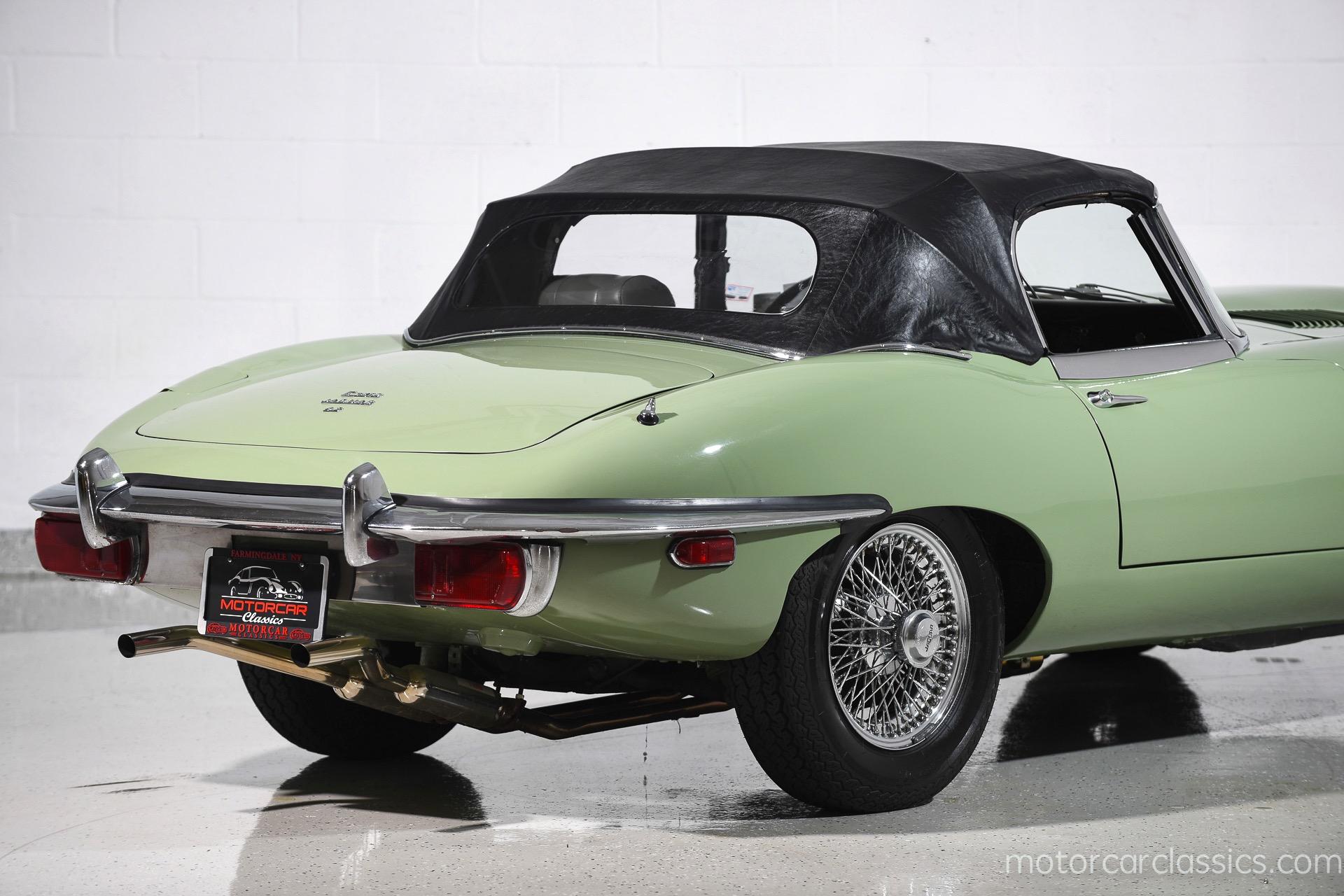 Used 1969 Jaguar E-Type Roadster For Sale ($64,900) | Motorcar Classics Stock #1160