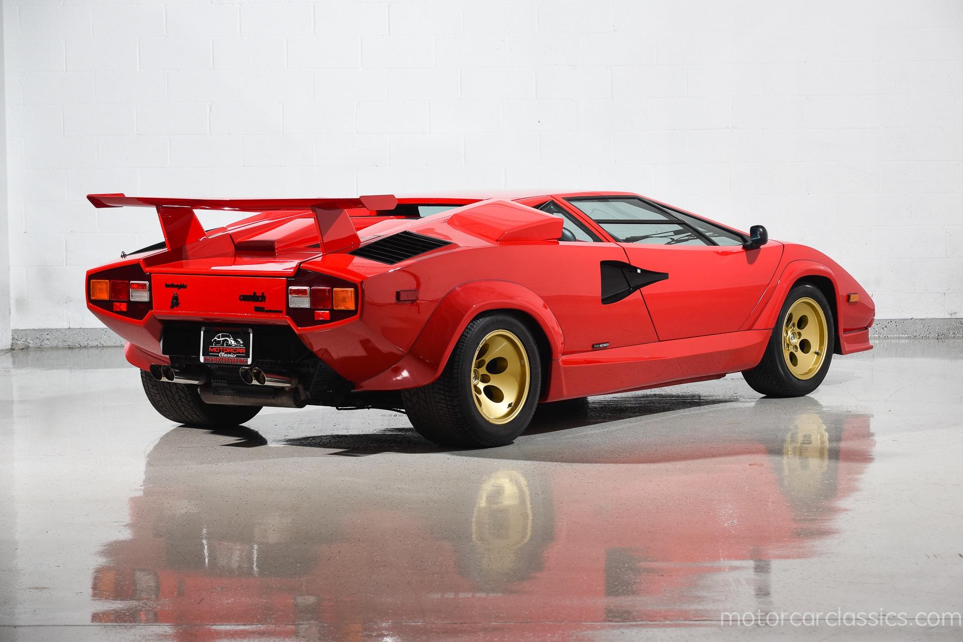 1987 Lamborghini Countach 5000 QV