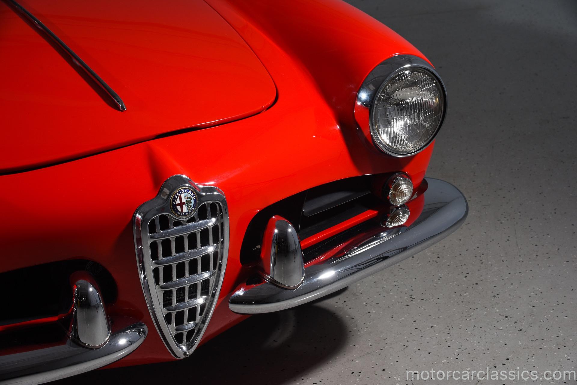 1962 Alfa Romeo Giulietta Spider Veloce