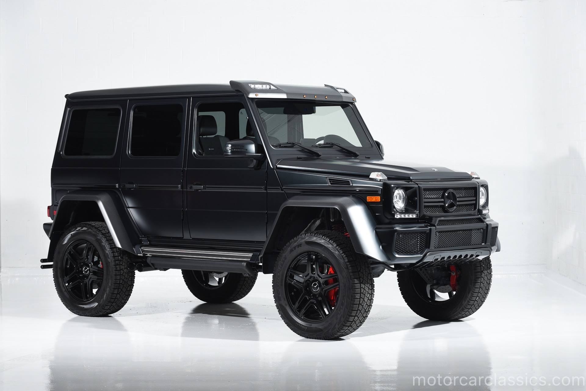 used 2017 mercedes benz g class g 550 4x4 squared for sale 226 900 motorcar classics stock. Black Bedroom Furniture Sets. Home Design Ideas
