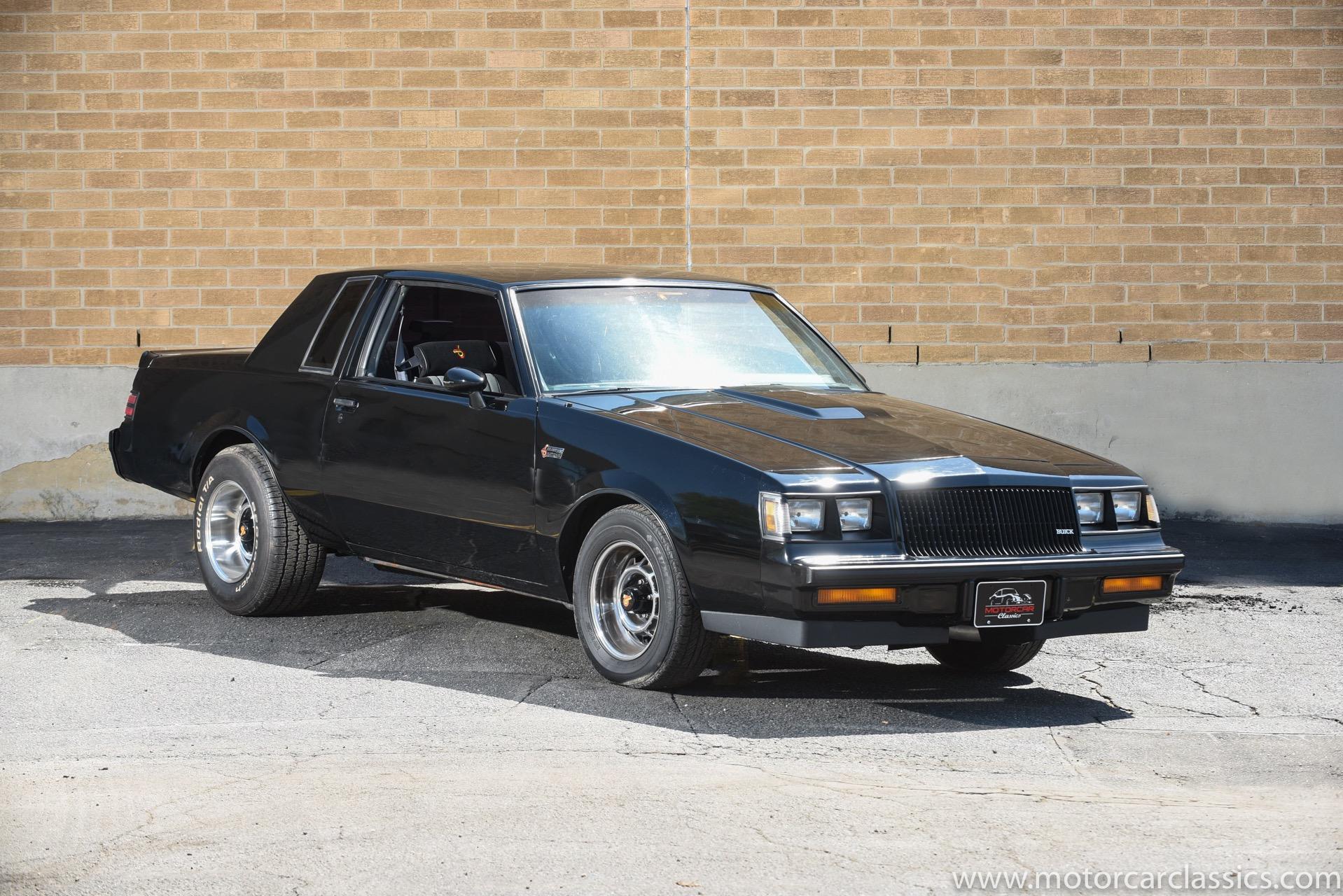 1987 Buick Regal Grand National Turbo