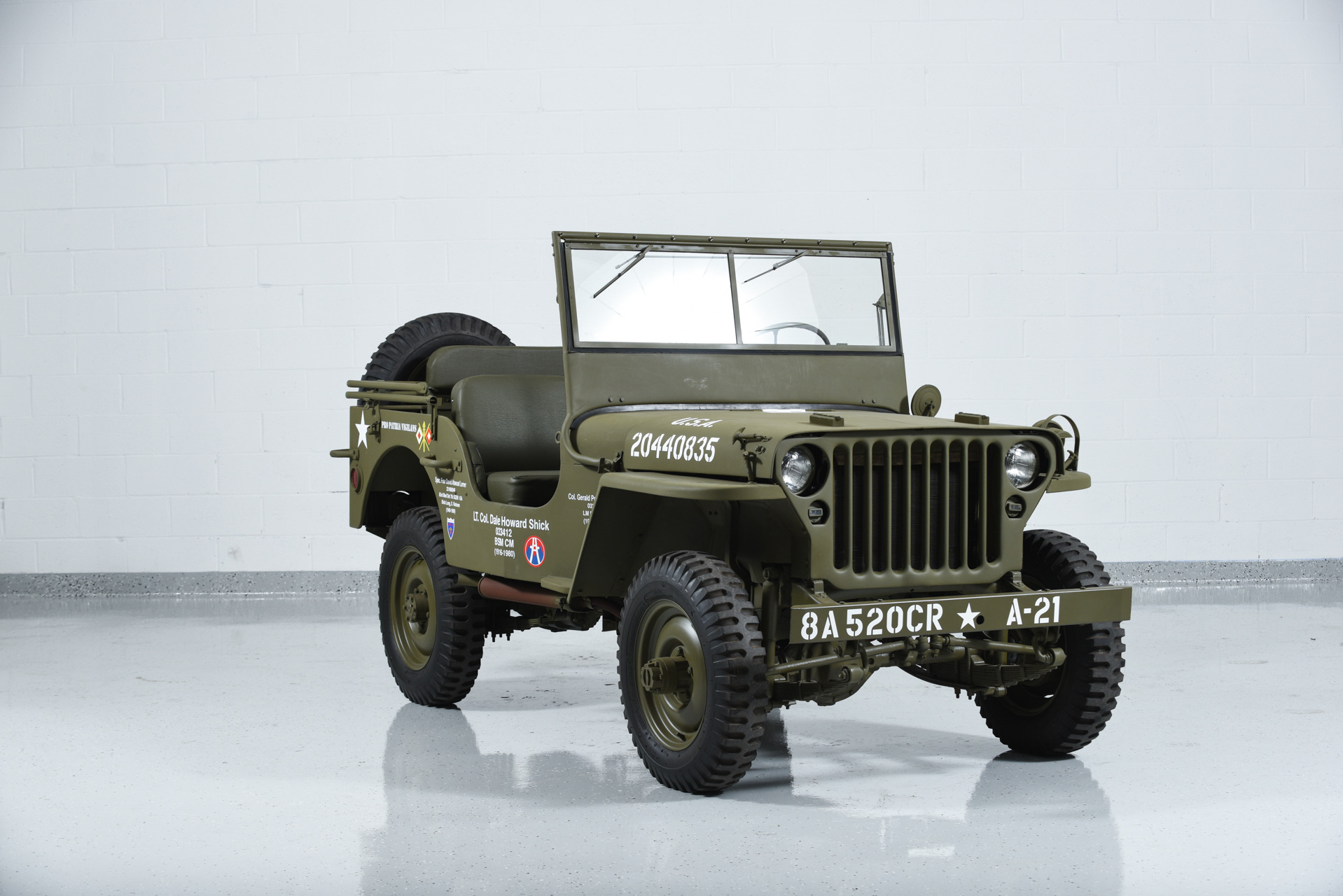 1941 jeep willys mb military motorcar classics exotic. Black Bedroom Furniture Sets. Home Design Ideas