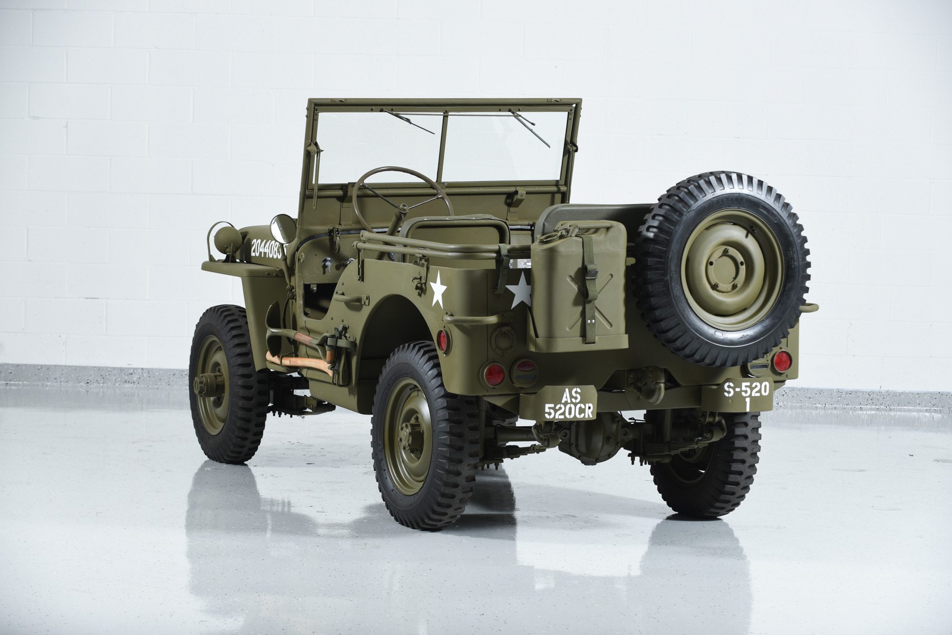 1941 Jeep Willys Mb Military Motorcar Classics Exotic