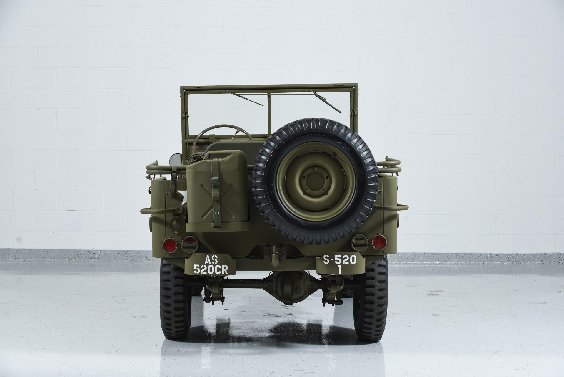 1941 Jeep WILLYS MB Military Motorcar Classics
