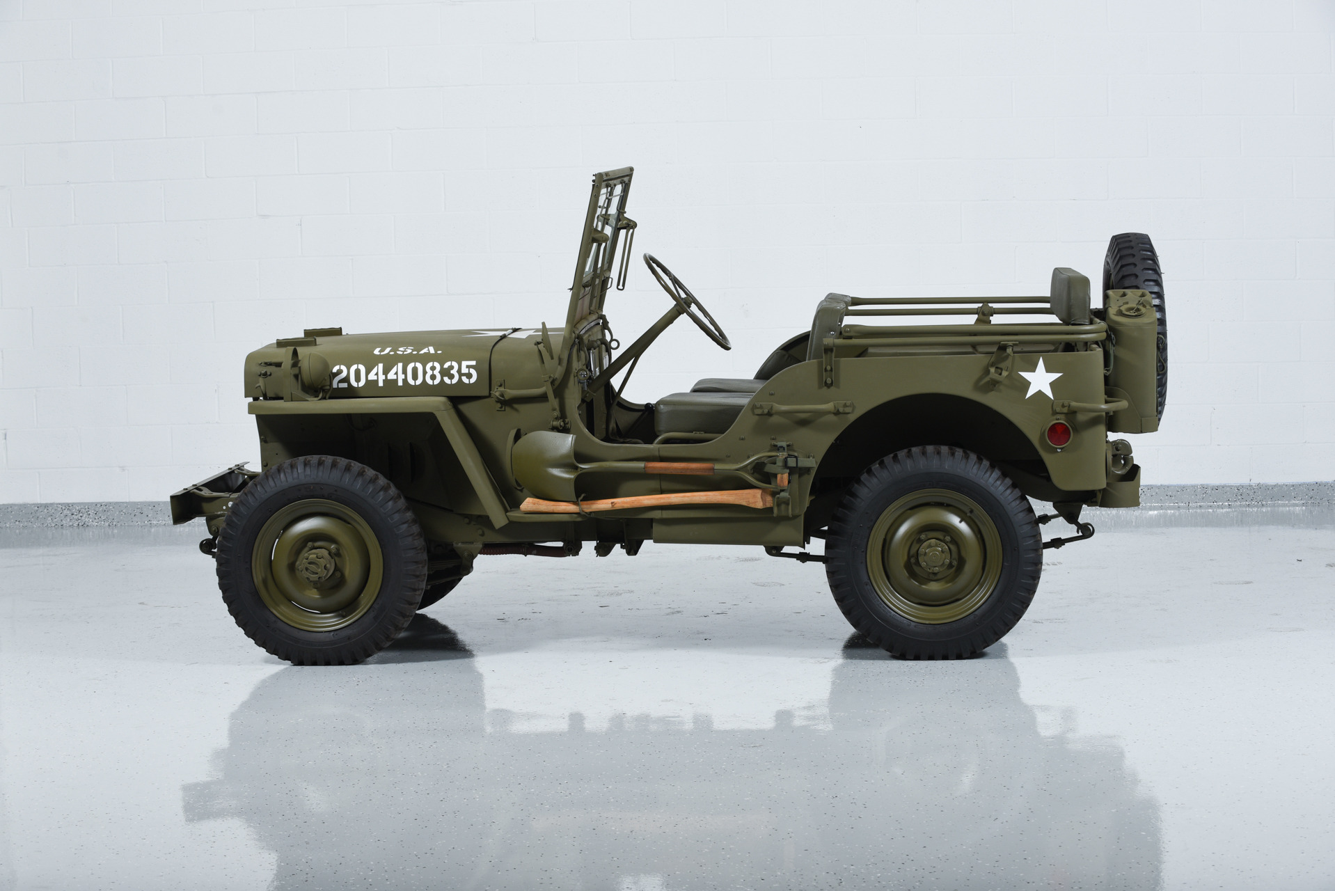 Image 20 Of 49 Willys Jeep Mb Totally Car News Part 1941 Pickup Trucks Military Motorcar Classics Exotic