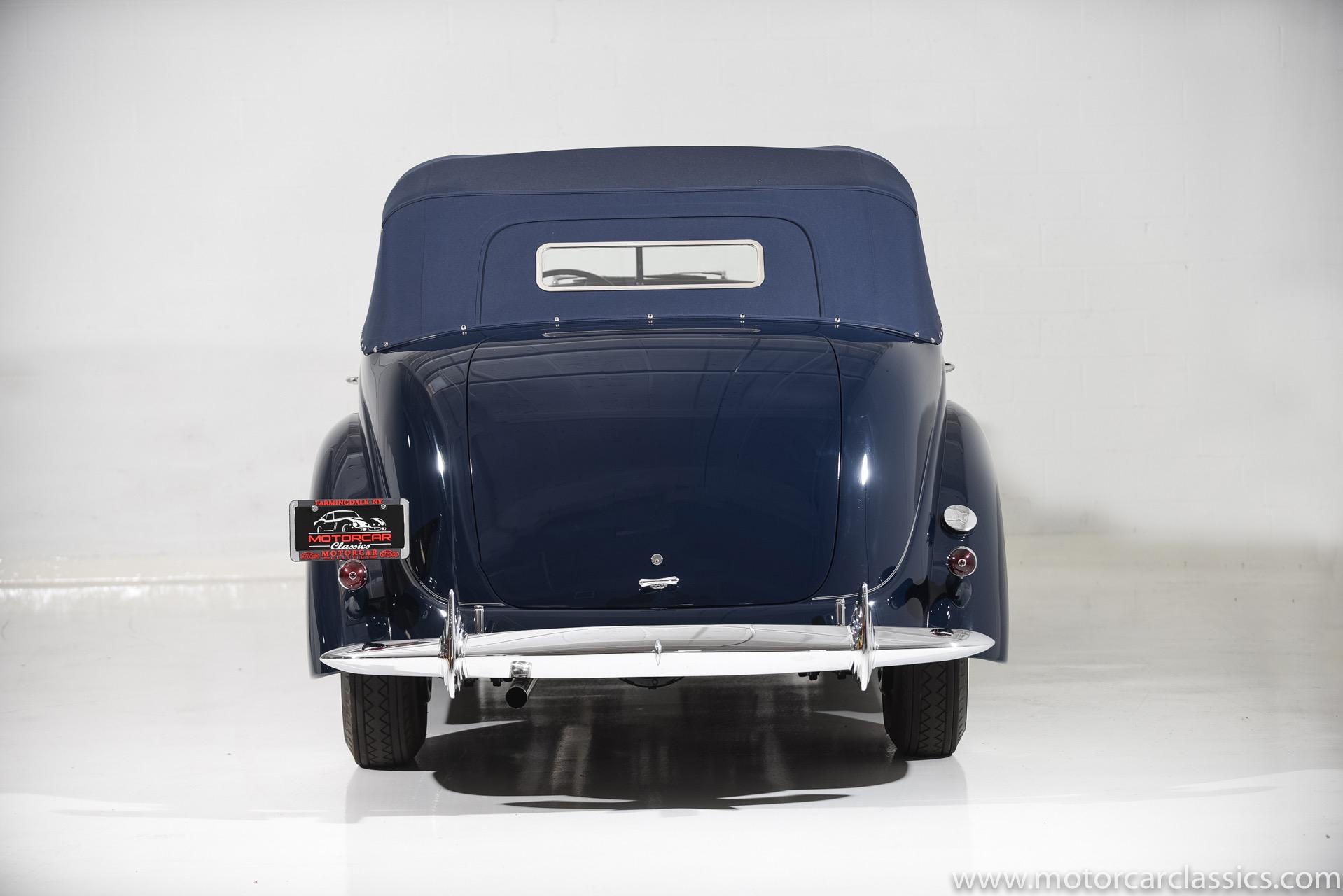1938 Lincoln Lebaron K