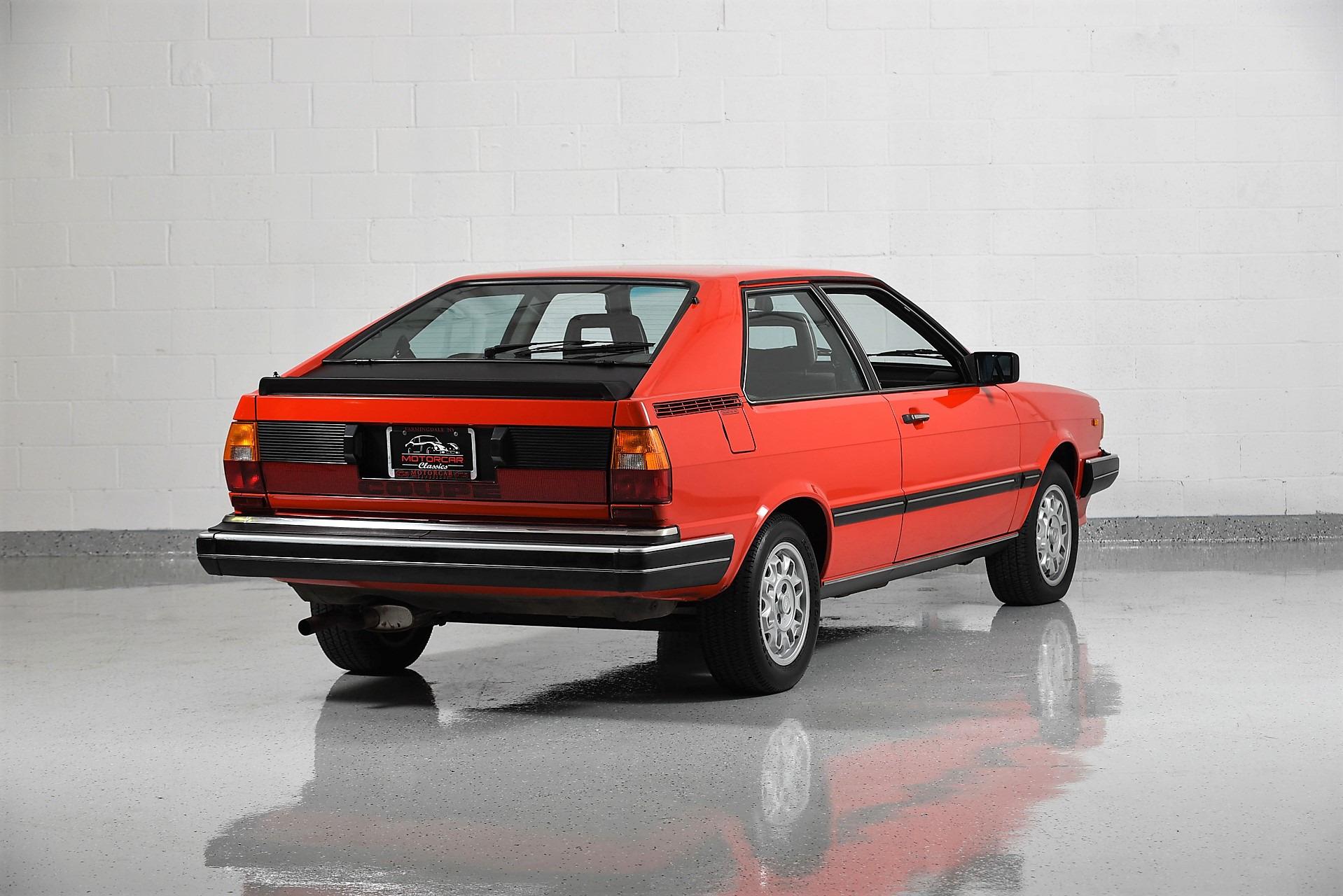 1982 Audi 100 GT   Motorcar Classics   Exotic and Classic ...