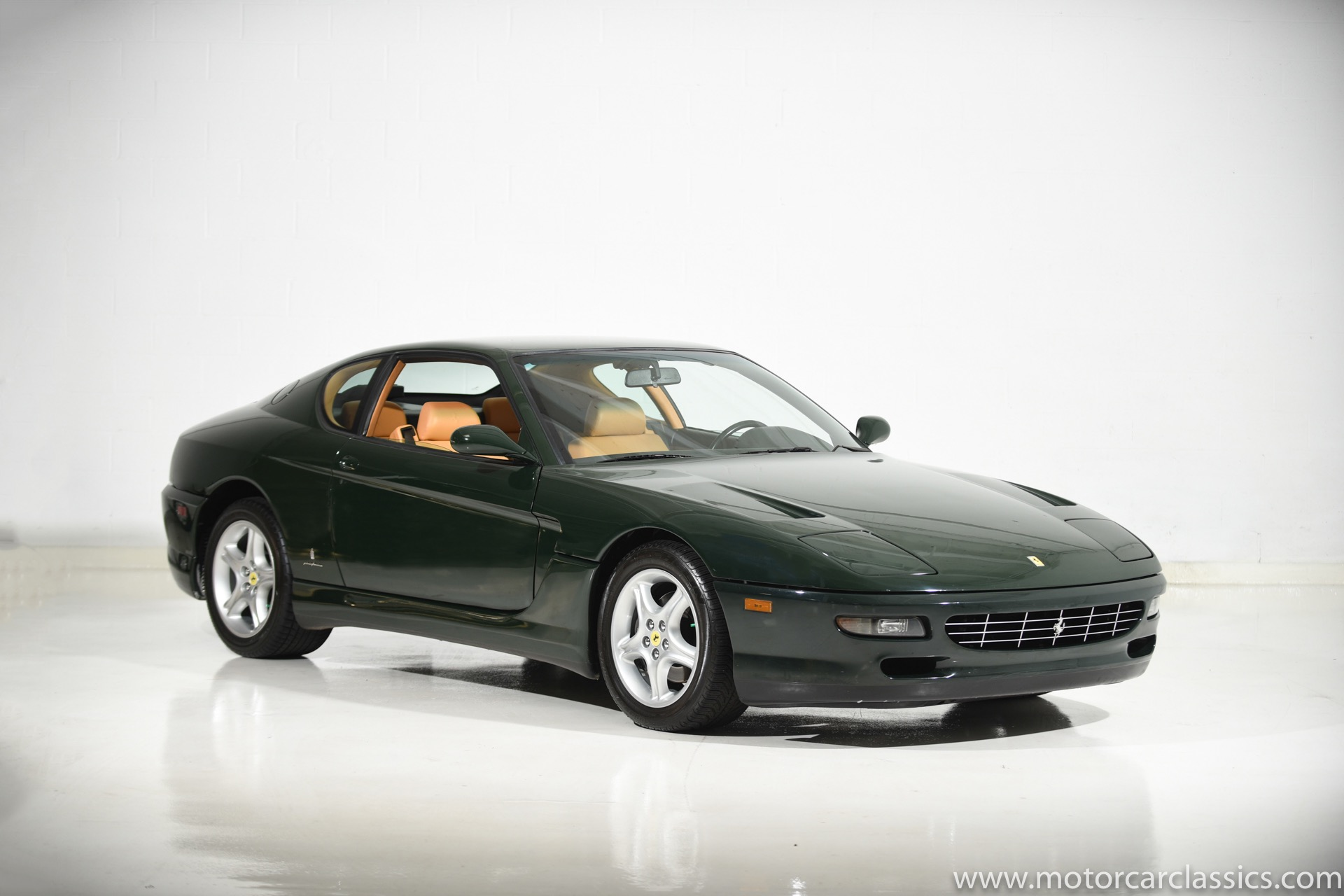 Used 1995 Ferrari 456 For Sale 89 900 Motorcar Classics Stock 1293