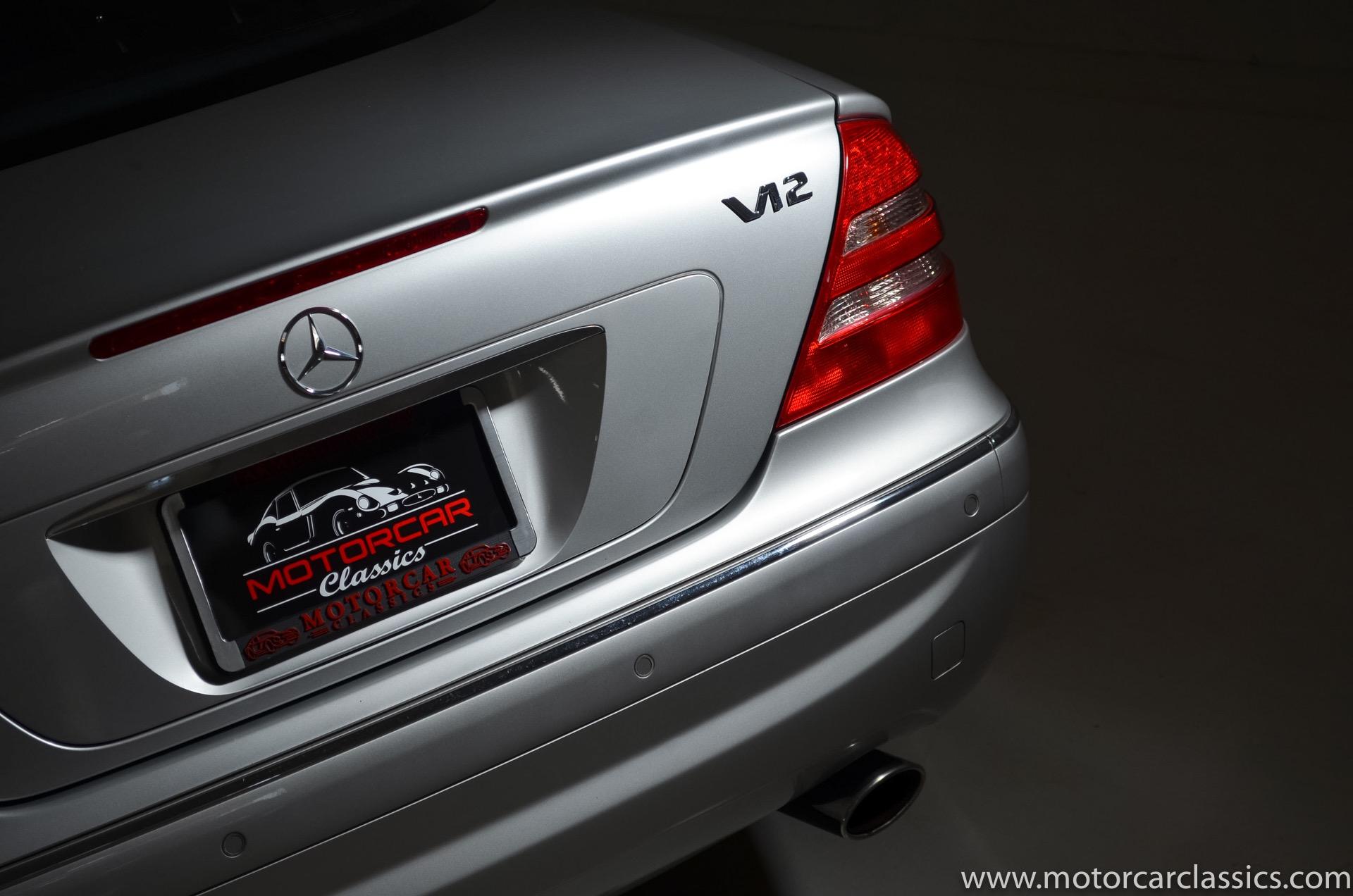 2002 Mercedes-Benz CL-Class CL 600