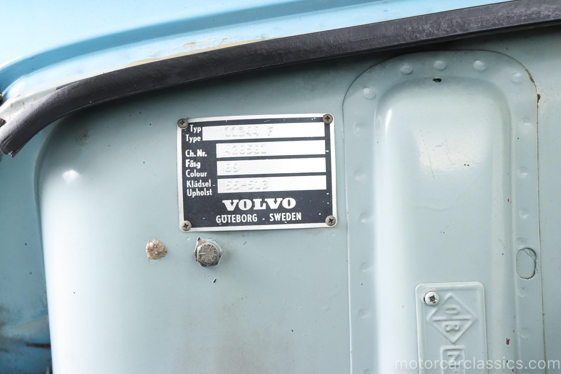 1965 Volvo 544 Sport