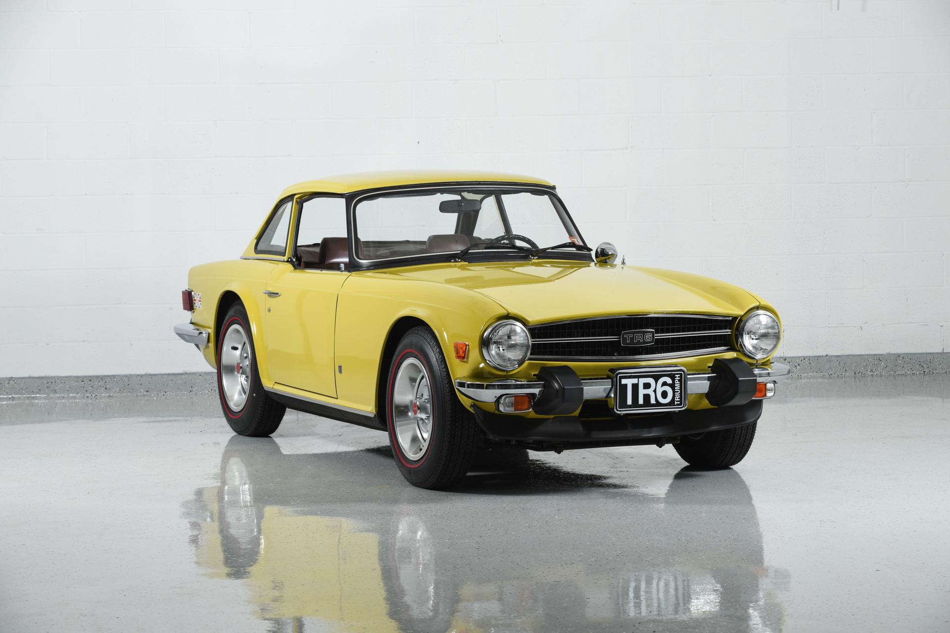 Used 1975 Triumph TR6 For Sale ($46,900)   Motorcar Classics