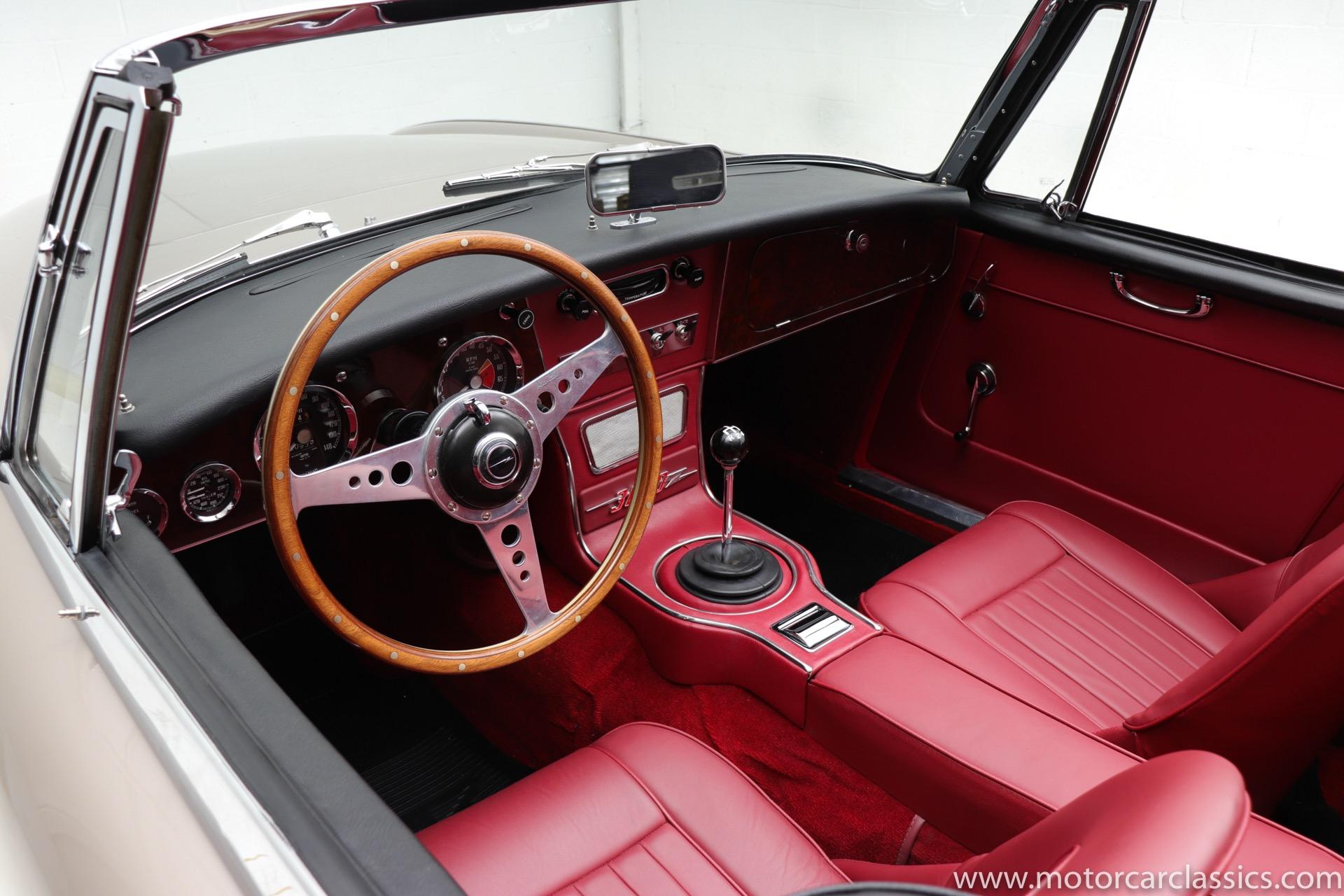 1964 Austin-Healey 3000 MKIII Convertible Phase II RWD