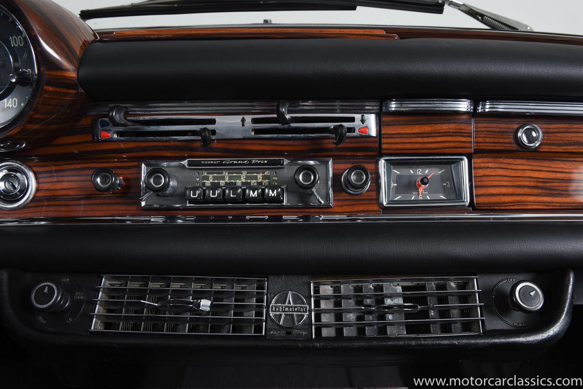 1967 Mercedes-Benz SE-Class 250SE