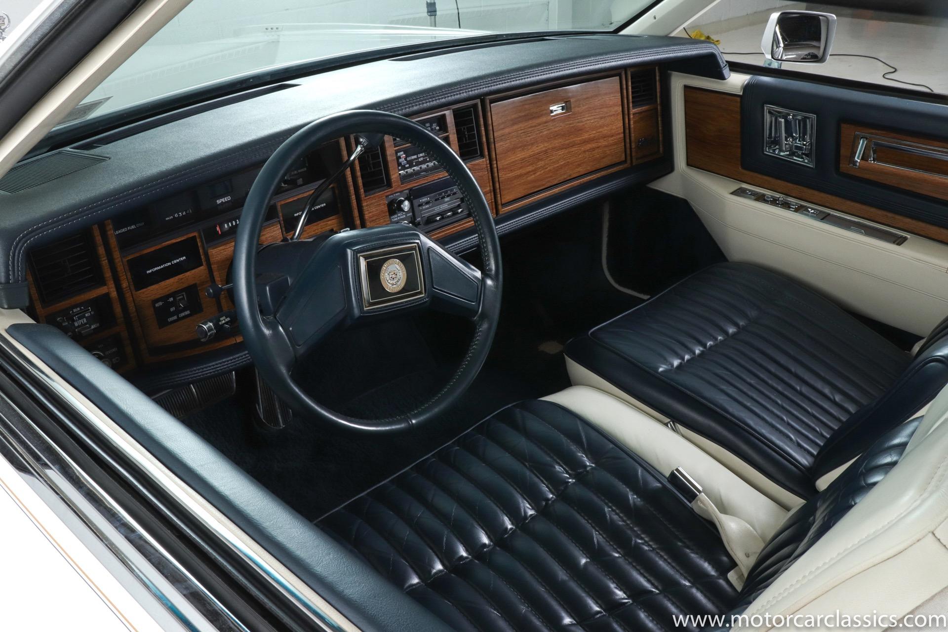 1985 Cadillac Eldorado Commemorative Edition