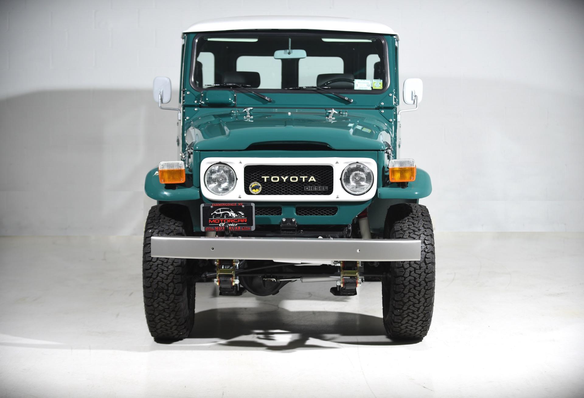 1980 Toyota FJ40 Land Cruiser Diesel