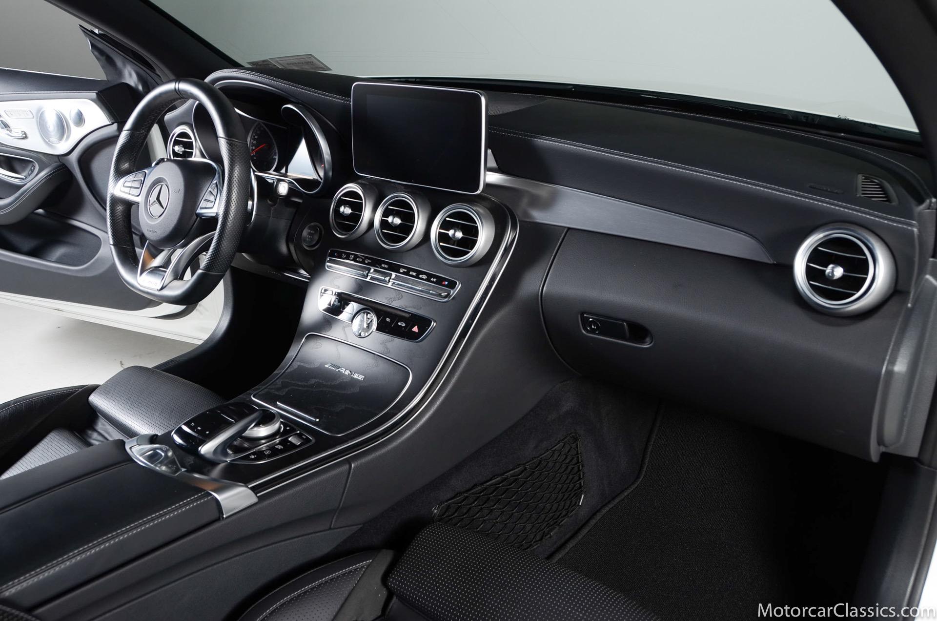 2017 Mercedes-Benz C-Class AMG C 63