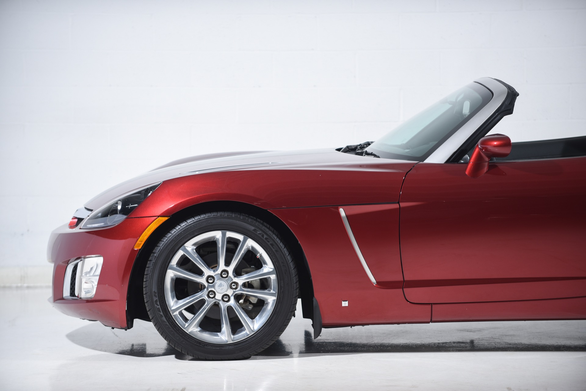 2009 Saturn SKY Red Line Ruby Red SE
