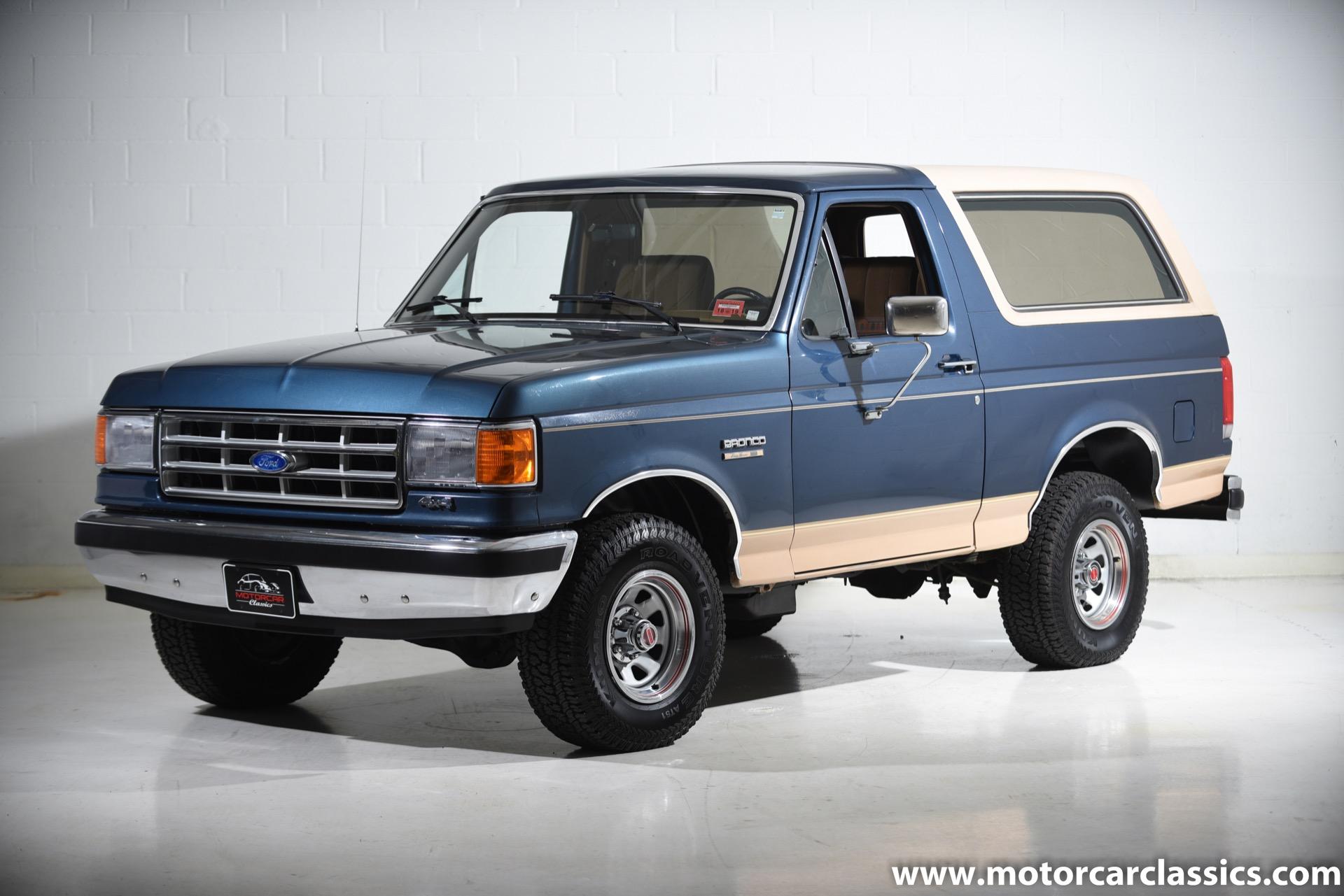 1987 Ford Bronco Eddie Bauer