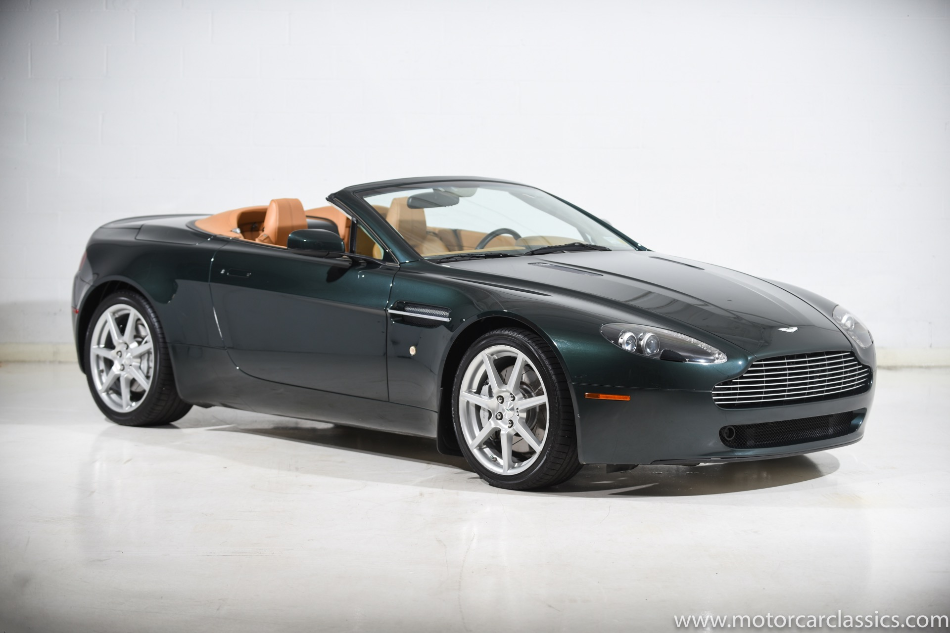 Used 2008 Aston Martin V8 Vantage Roadster For Sale 43 900 Motorcar Classics Stock 1448