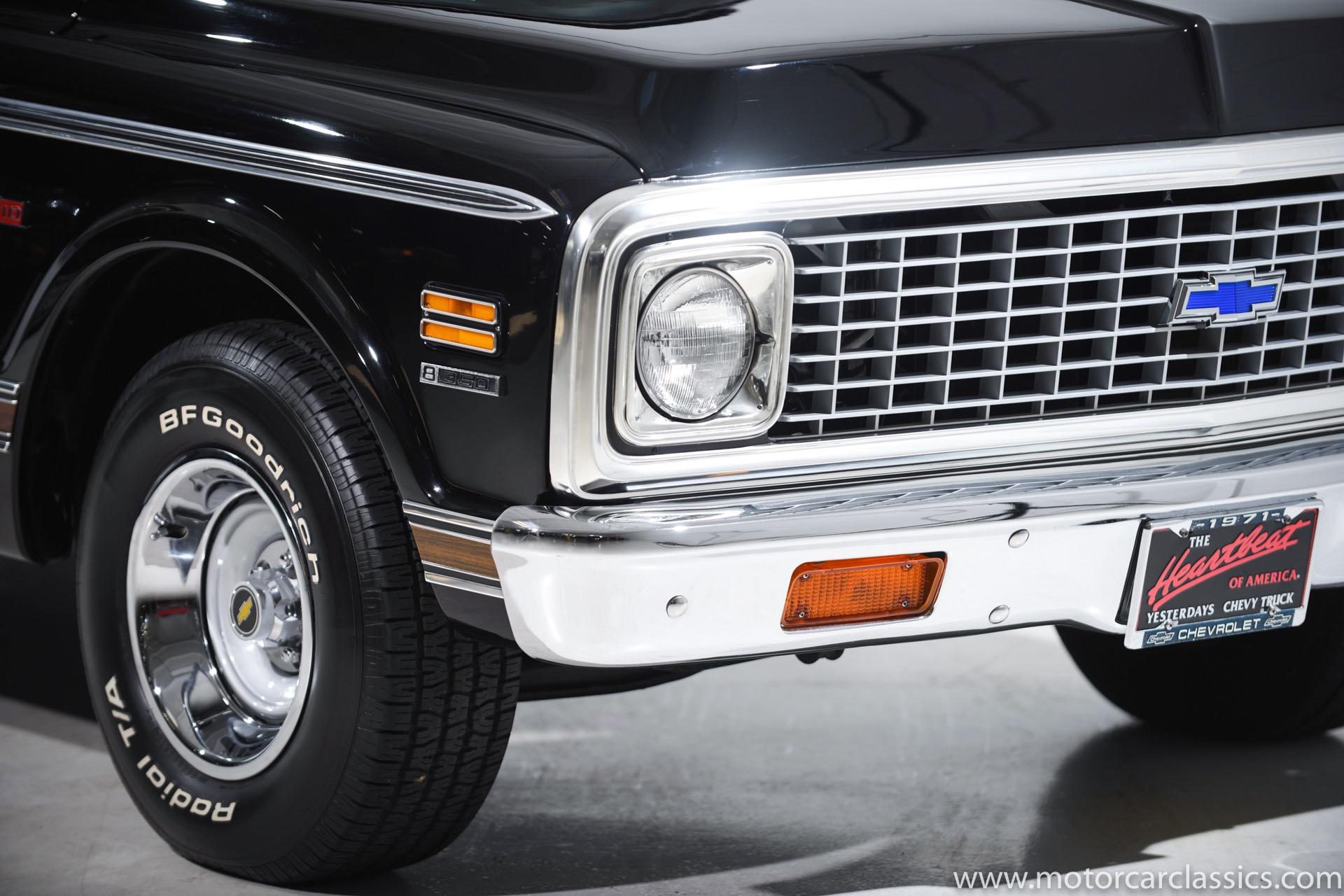 1971 Chevrolet C/K 10 Cheyenne 4WD