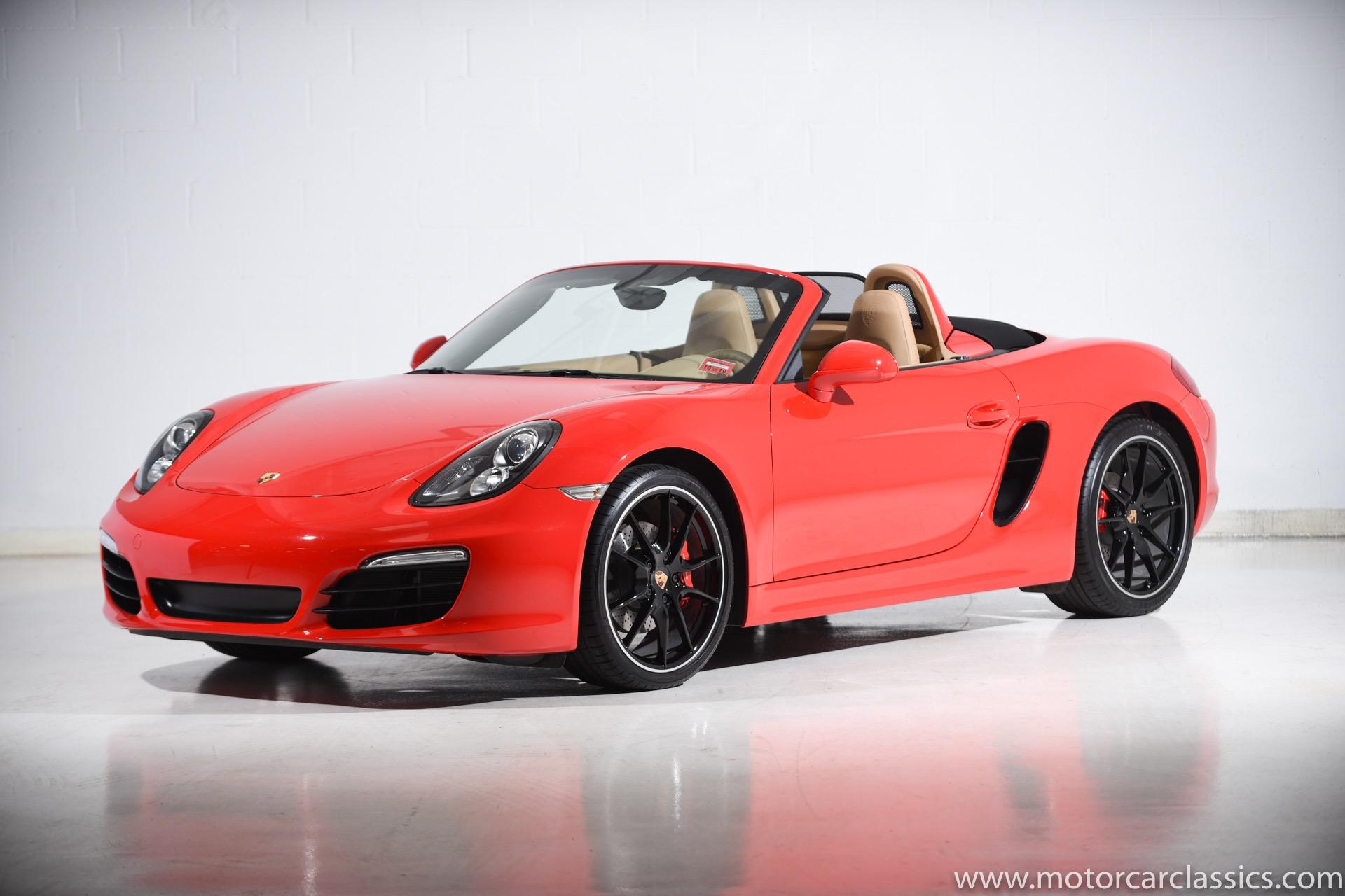2014 Porsche Boxster S