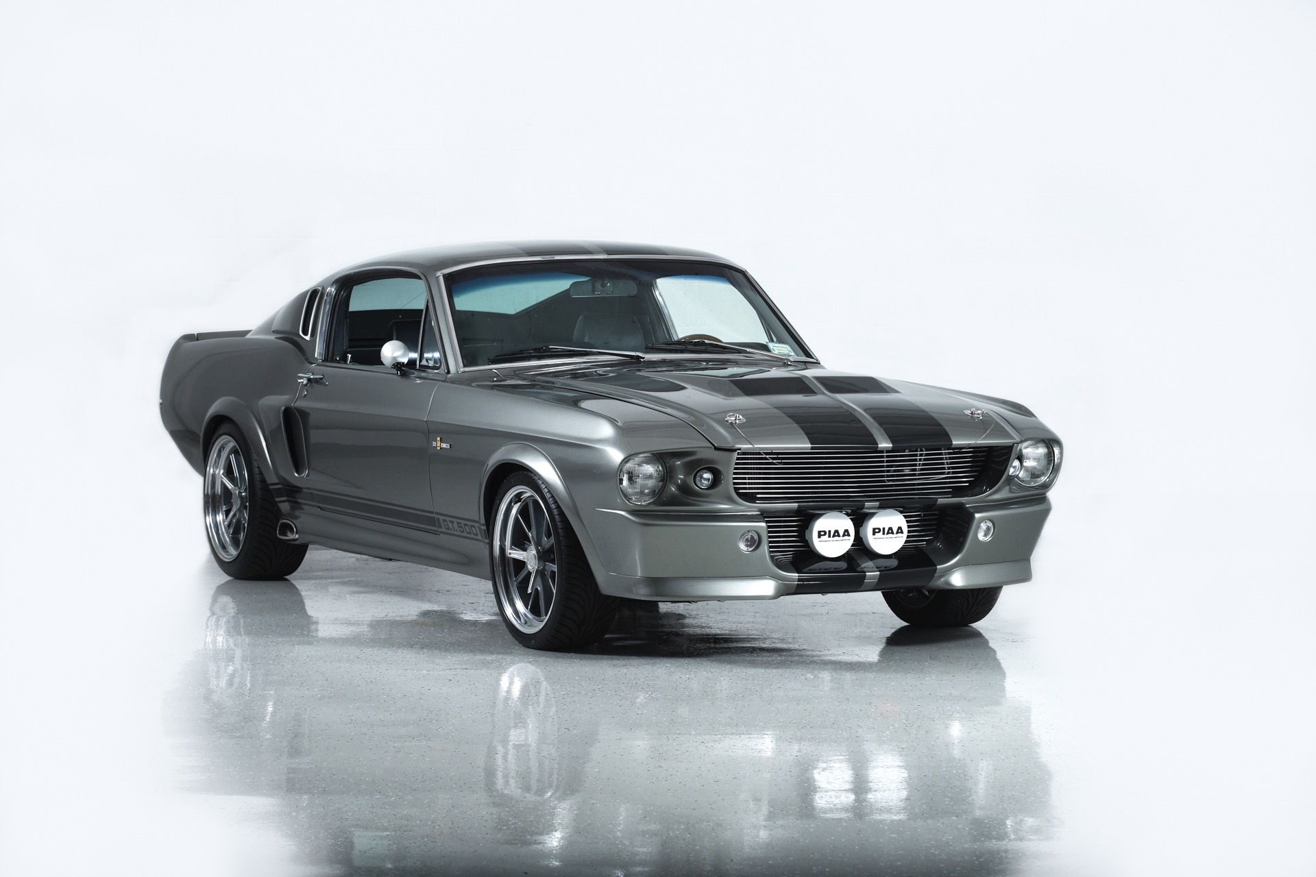1967 Ford Shelby Mustang Eleanor Gt500 C 40 on car rotisserie kit