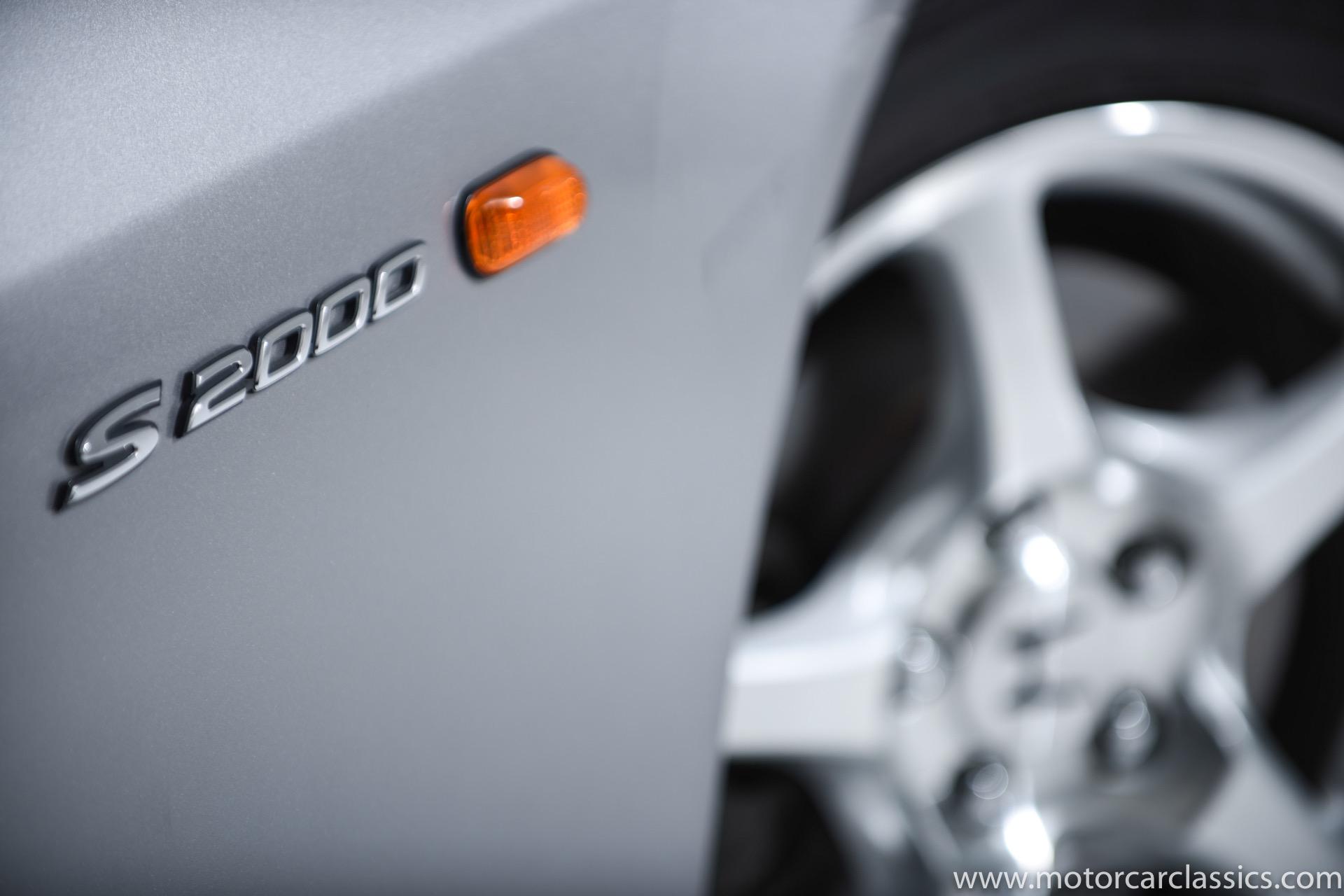 2000 Honda S2000