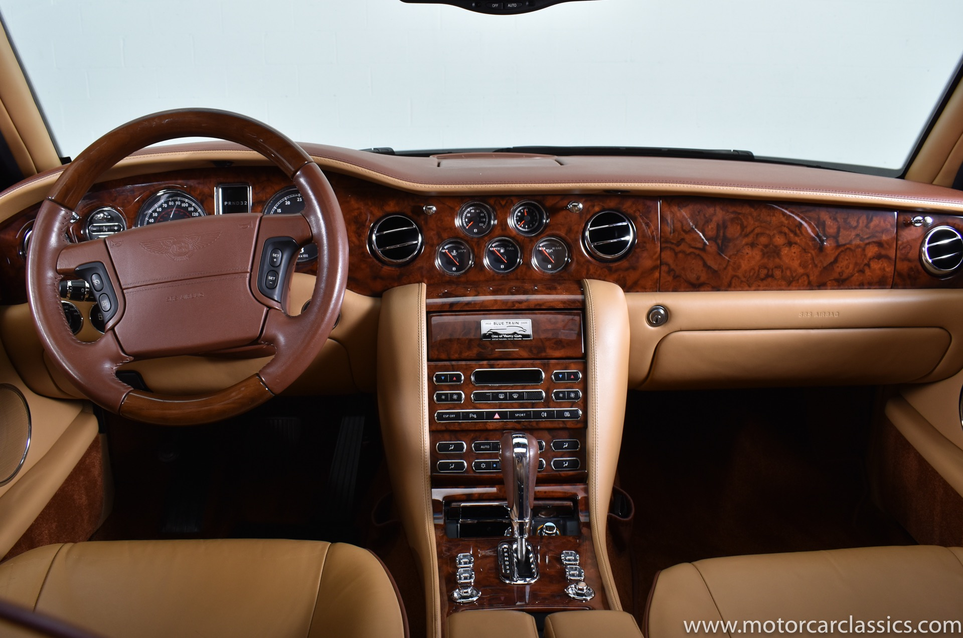 2006 Bentley Arnage Blue Train