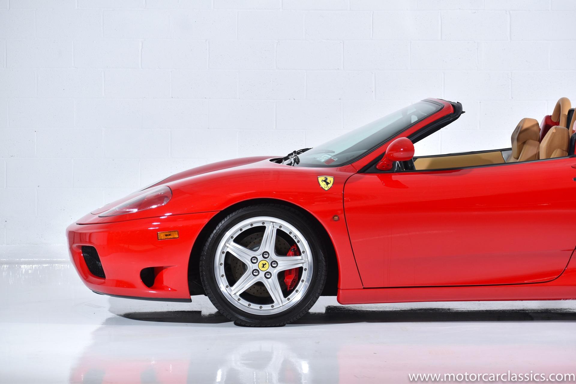 2004 Ferrari 360 Spider