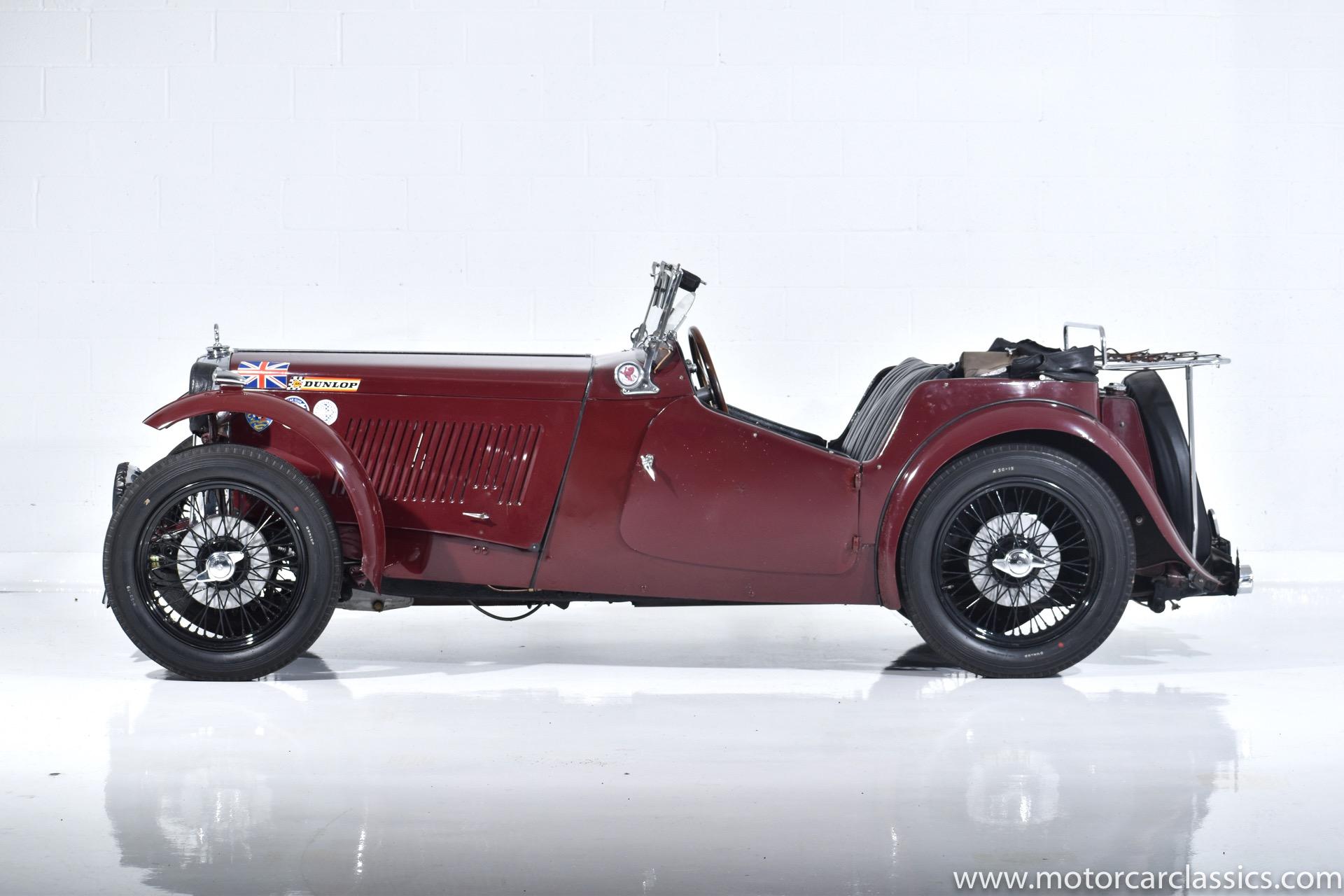 1947 MG TC Roadster RWD