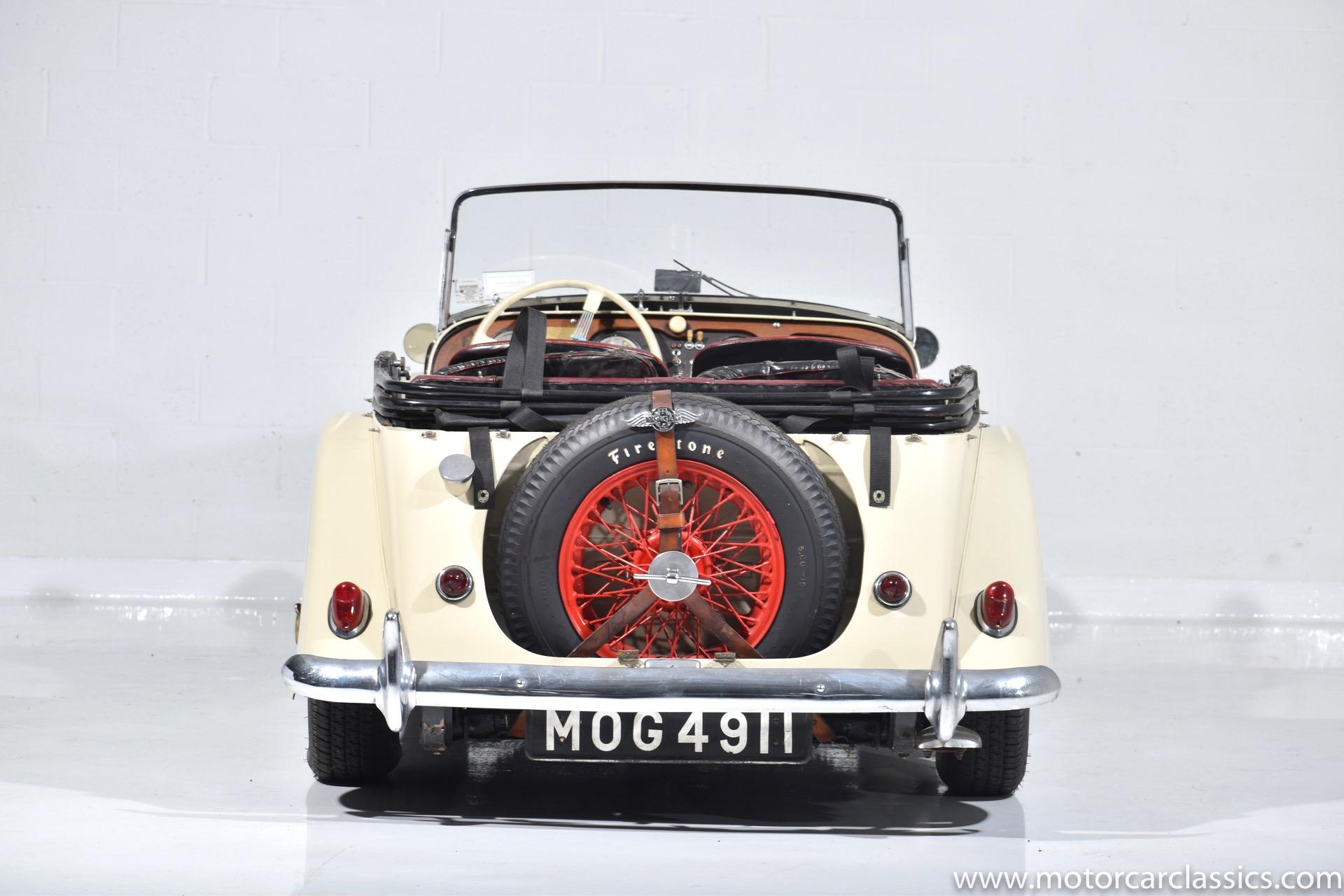 1961 Morgan Plus 4
