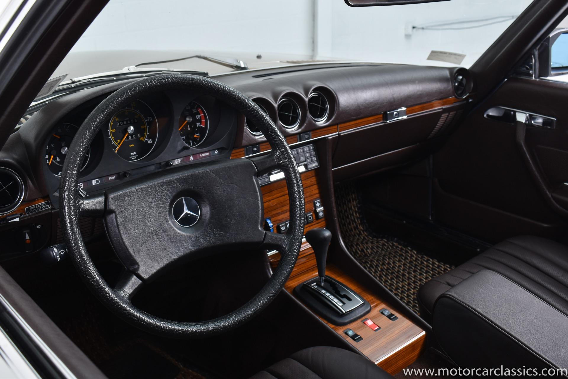 1982 Mercedes-Benz 380-Class 380 SL