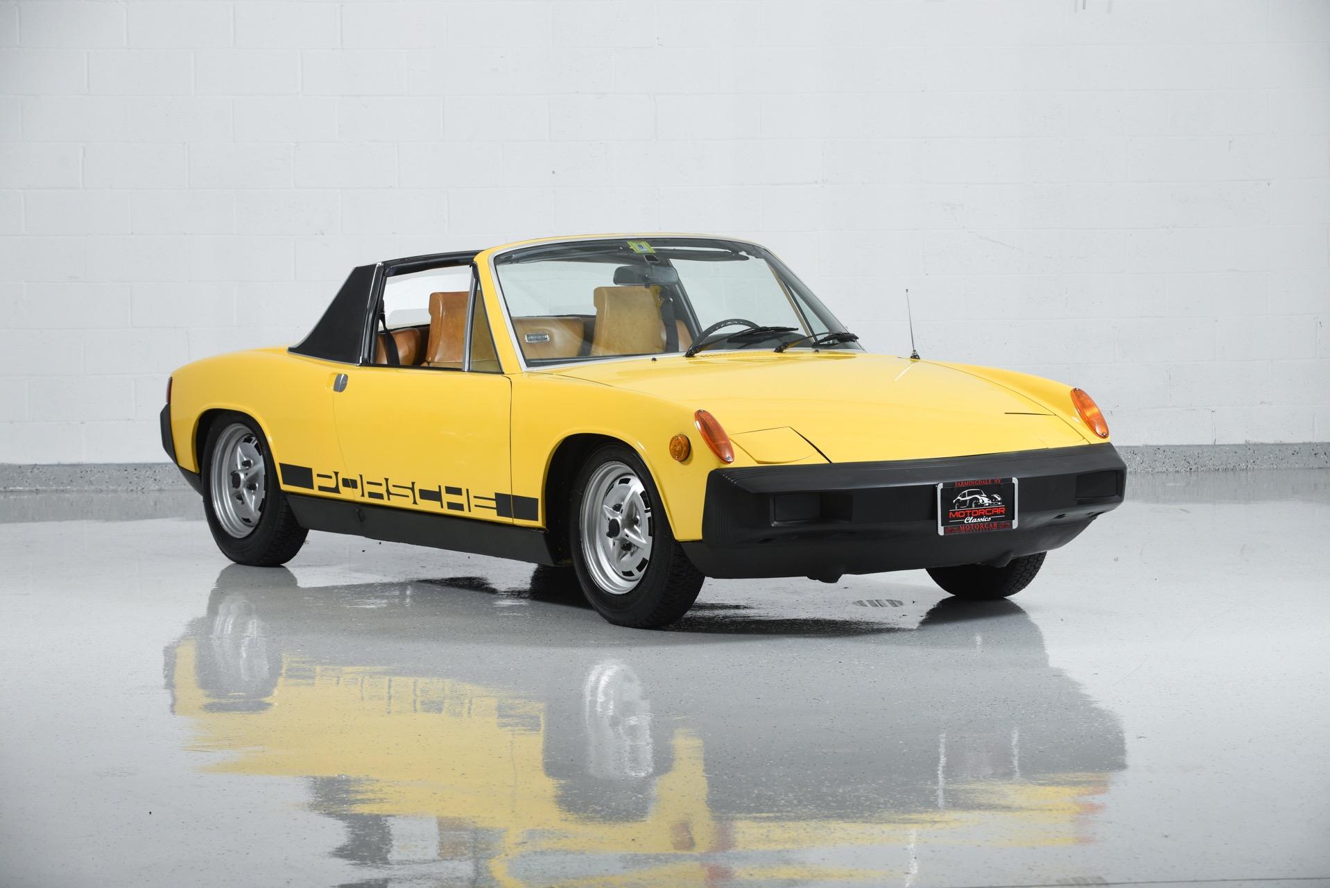 1974 porsche 914 motorcar classics exotic and classic car dealership farmingdale ny. Black Bedroom Furniture Sets. Home Design Ideas