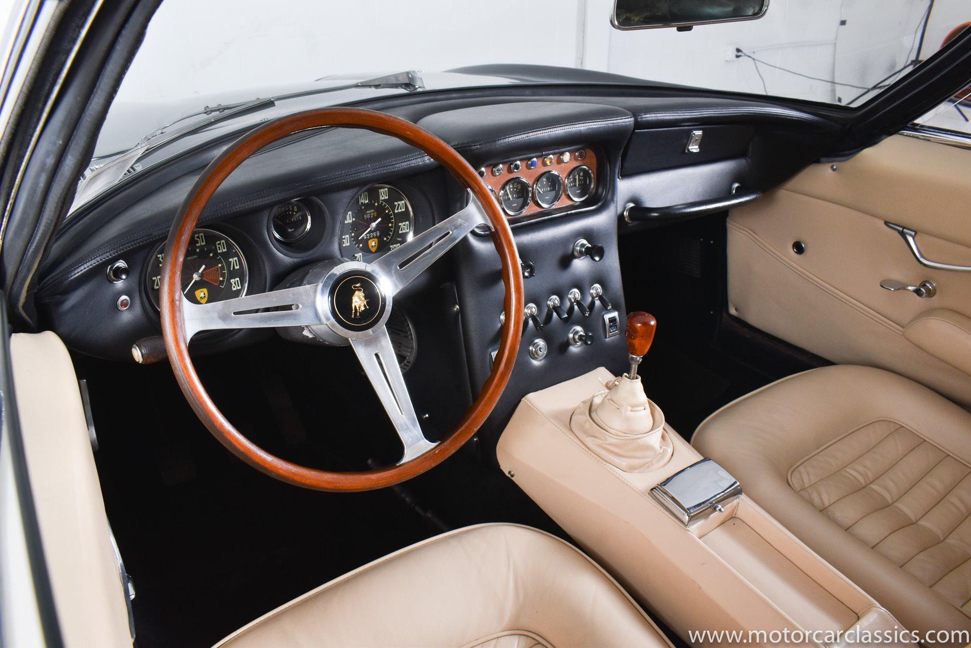 1967 Lamborghini 400GT Coupe 2+2 RWD