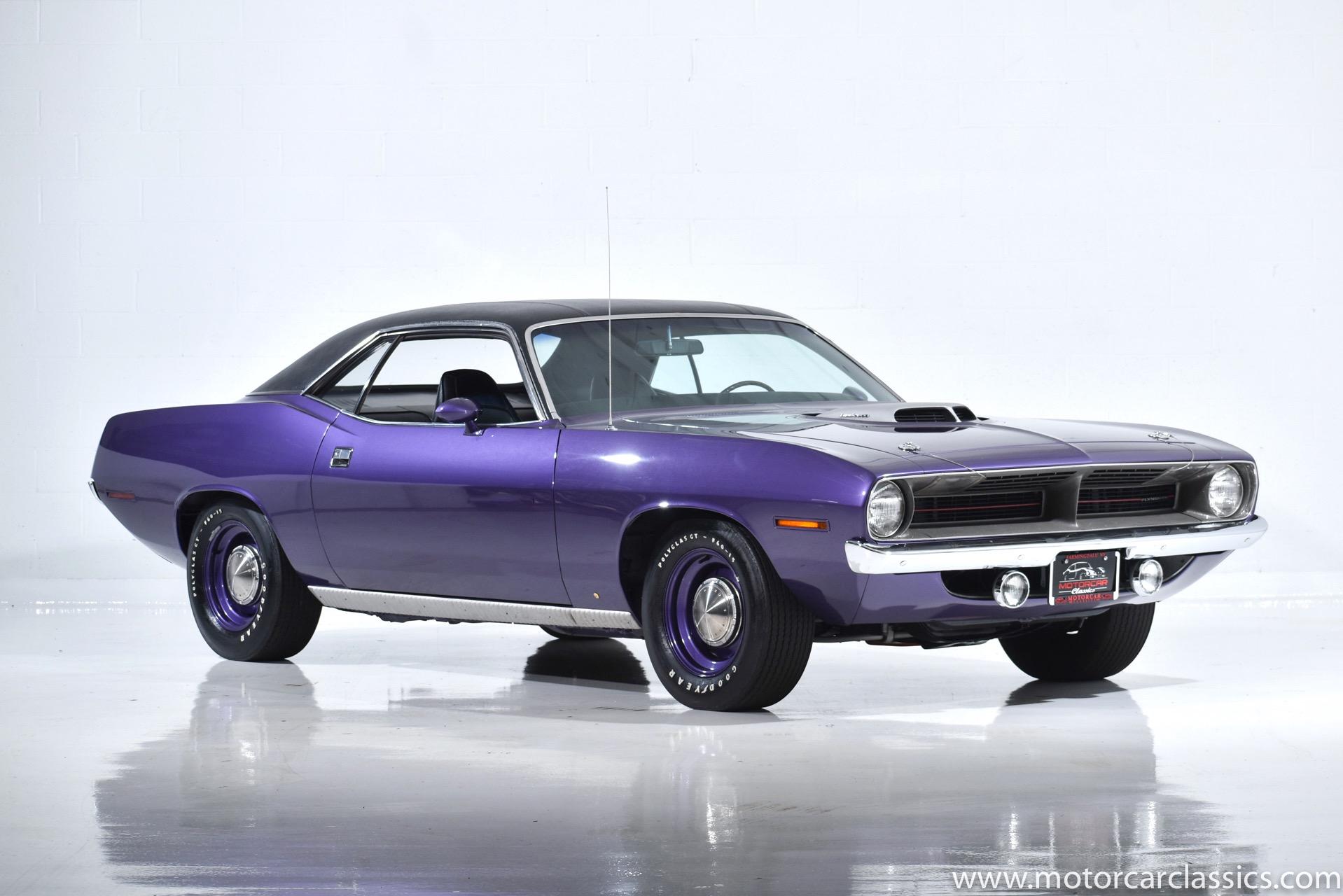 Used 1970 Plymouth Barracuda Hemi For Sale 199 900 Motorcar