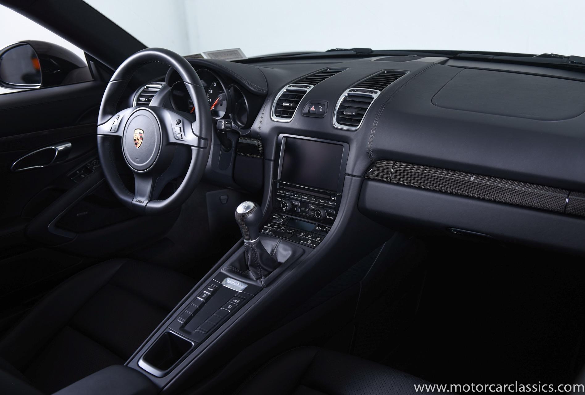 2016 Porsche Cayman Black Edition