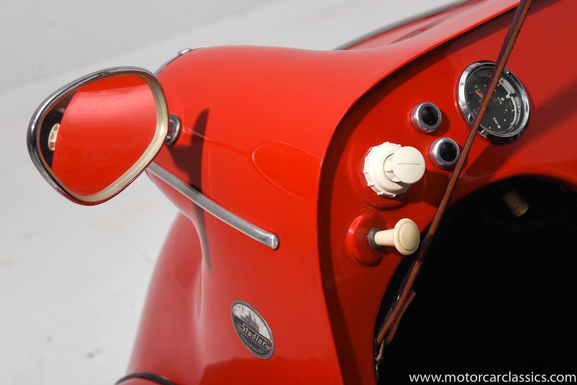 1960 Messerschmitt KR200 2-Door Coupe