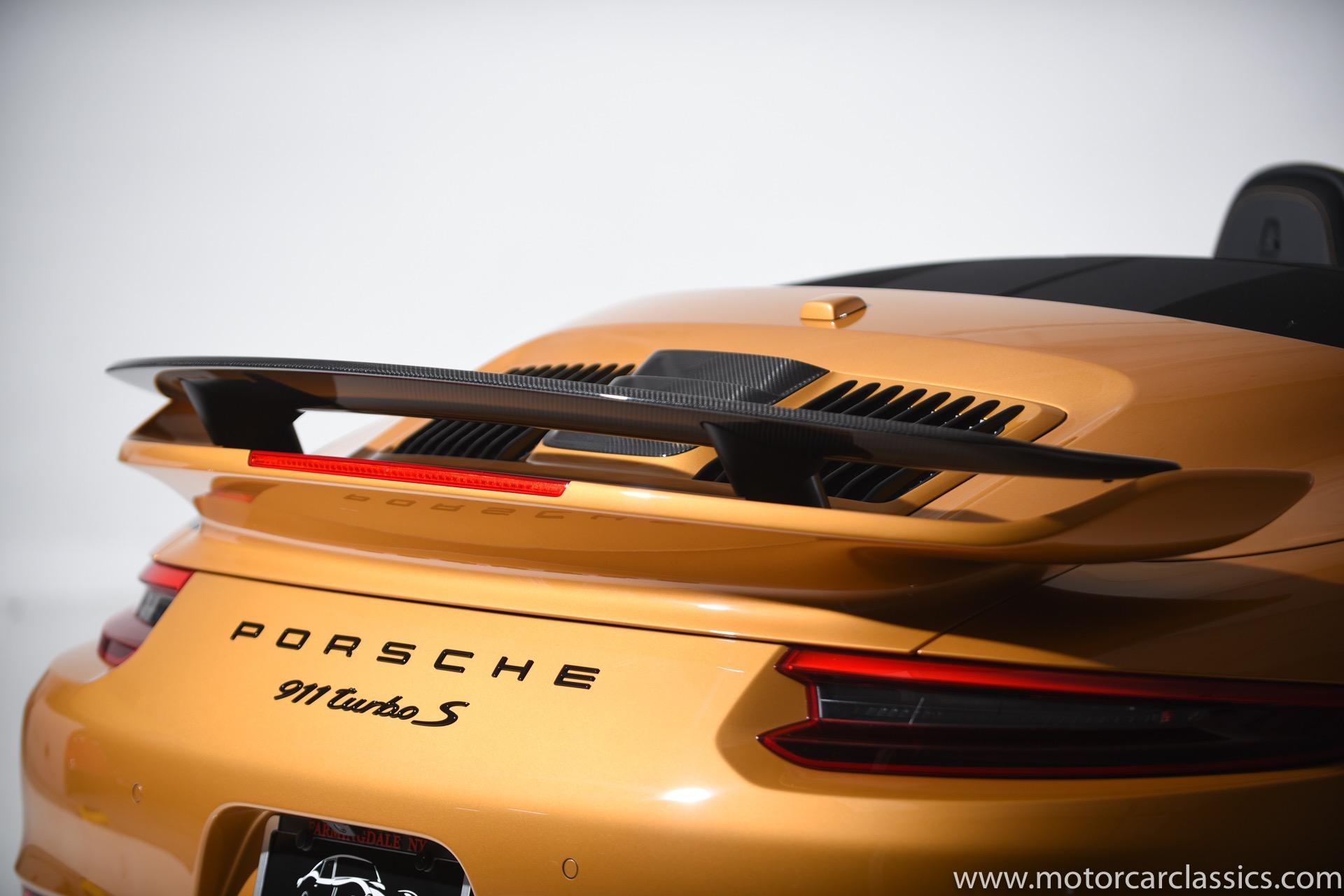 2019 Porsche 911 Turbo S Exclusive