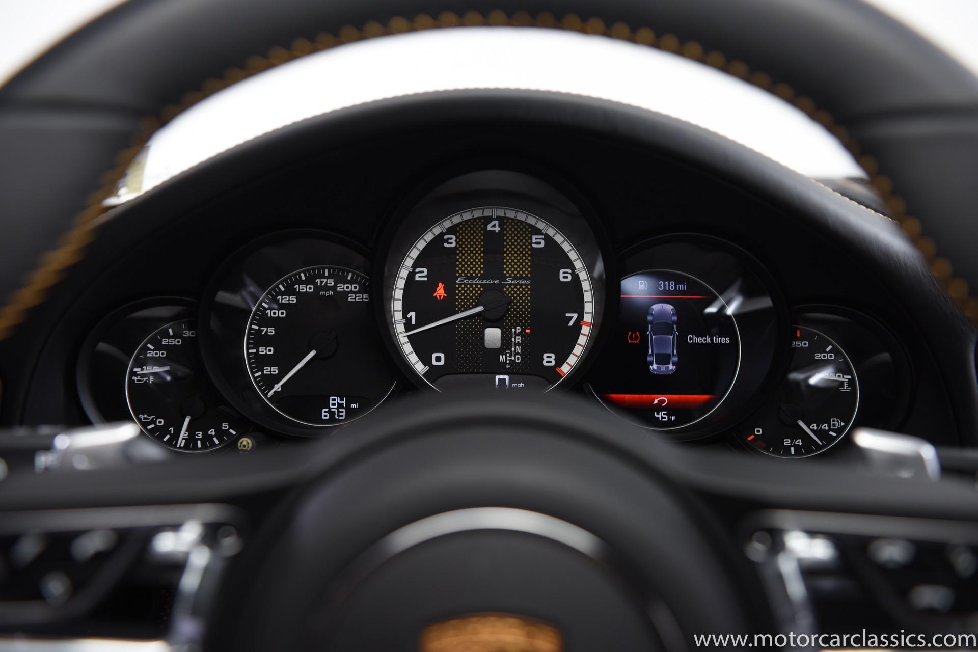 2018 Porsche 911 Turbo S Exclusive