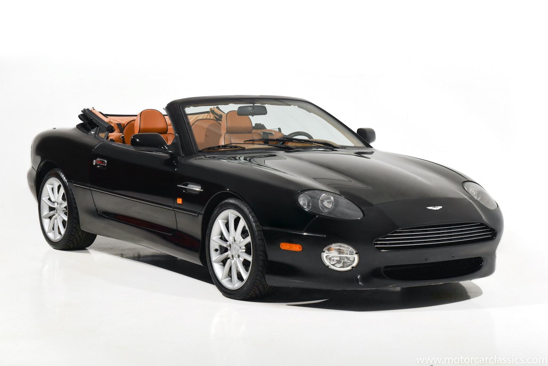 Used 2002 Aston Martin Db7 Vantage Volante For Sale 42 900 Motorcar Classics Stock 1623