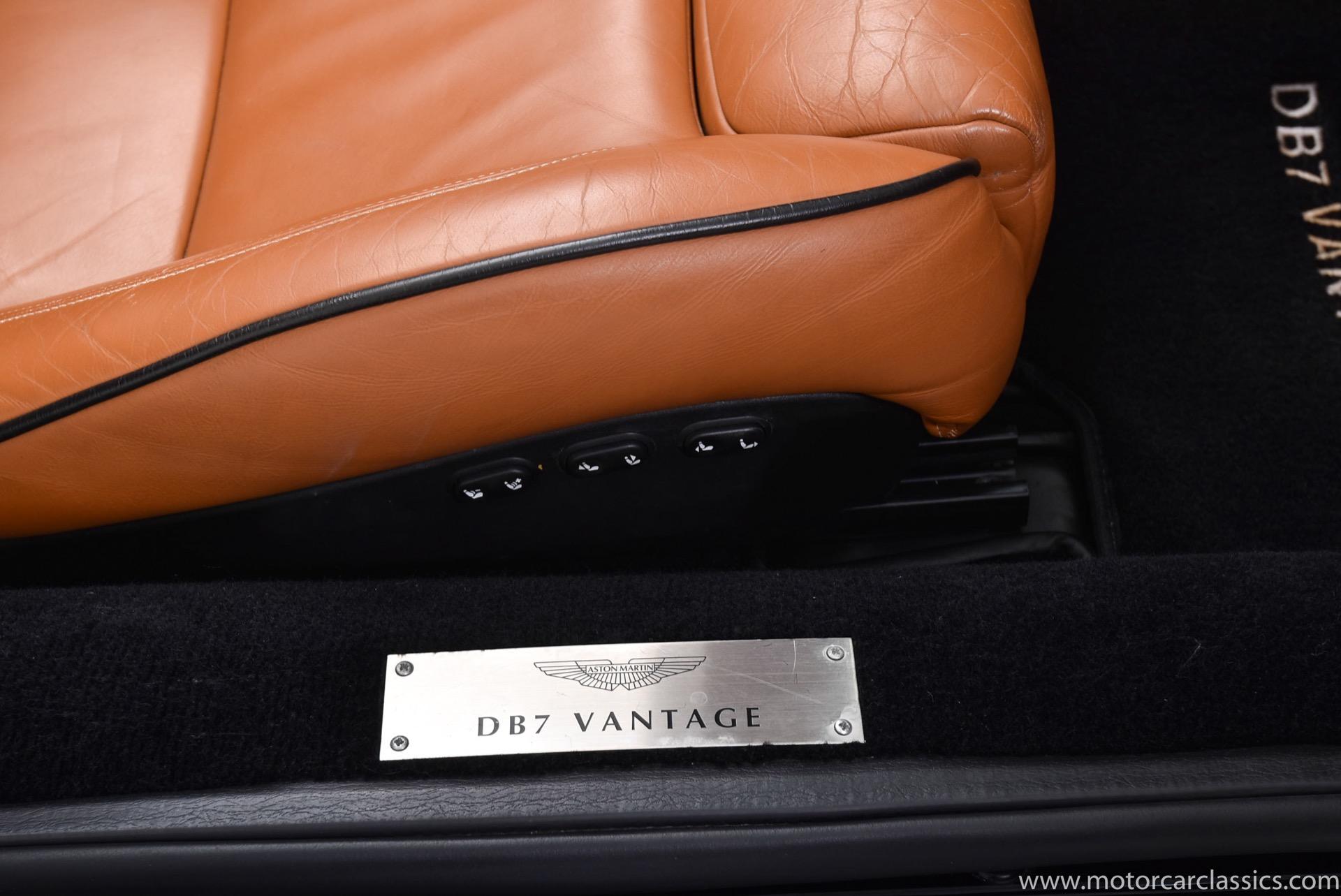 2002 Aston Martin DB7 Vantage Volante