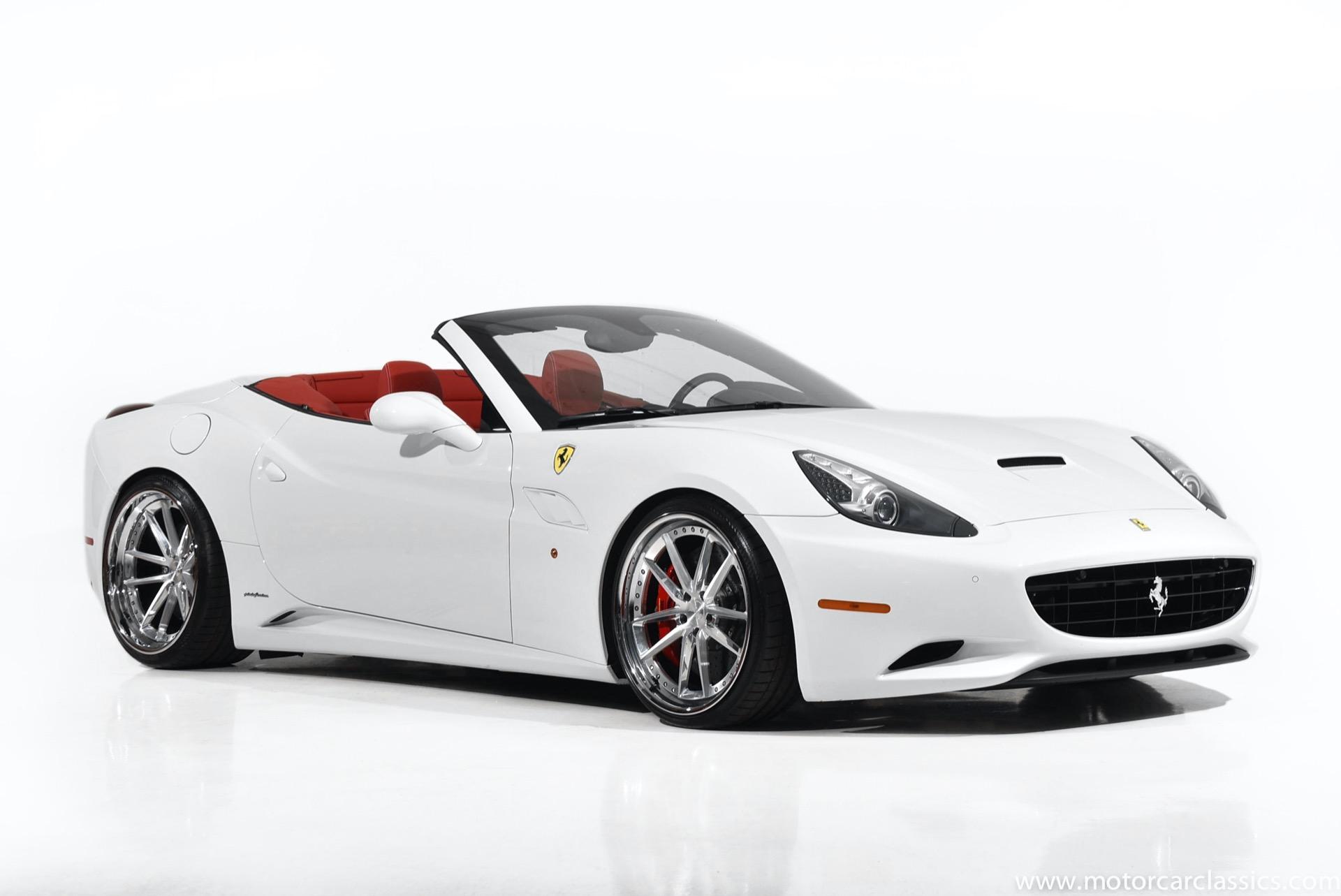 Used 2010 Ferrari California For Sale 98 900 Motorcar Classics Stock 1626