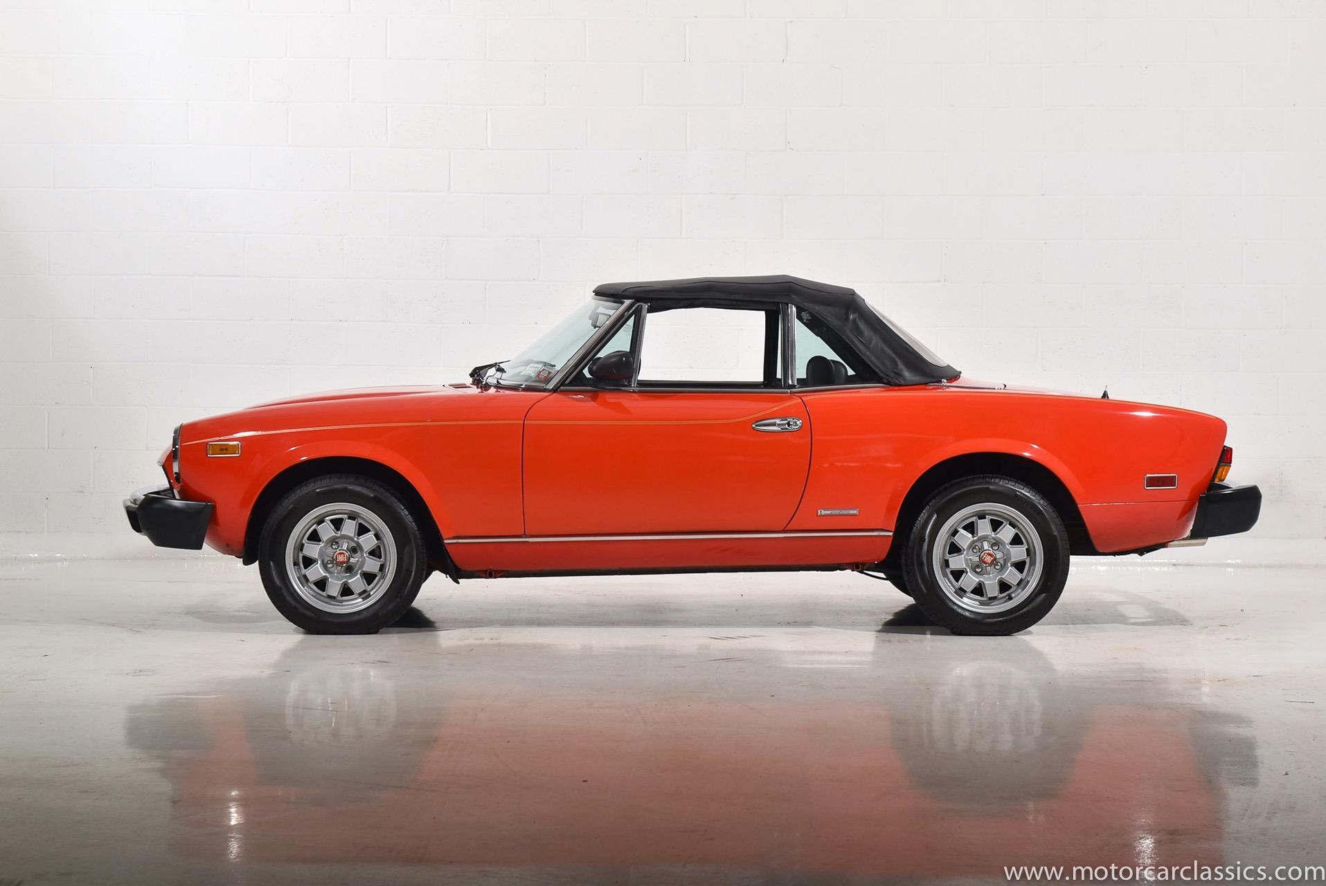 1984 Fiat Pininfarina Spider 2000