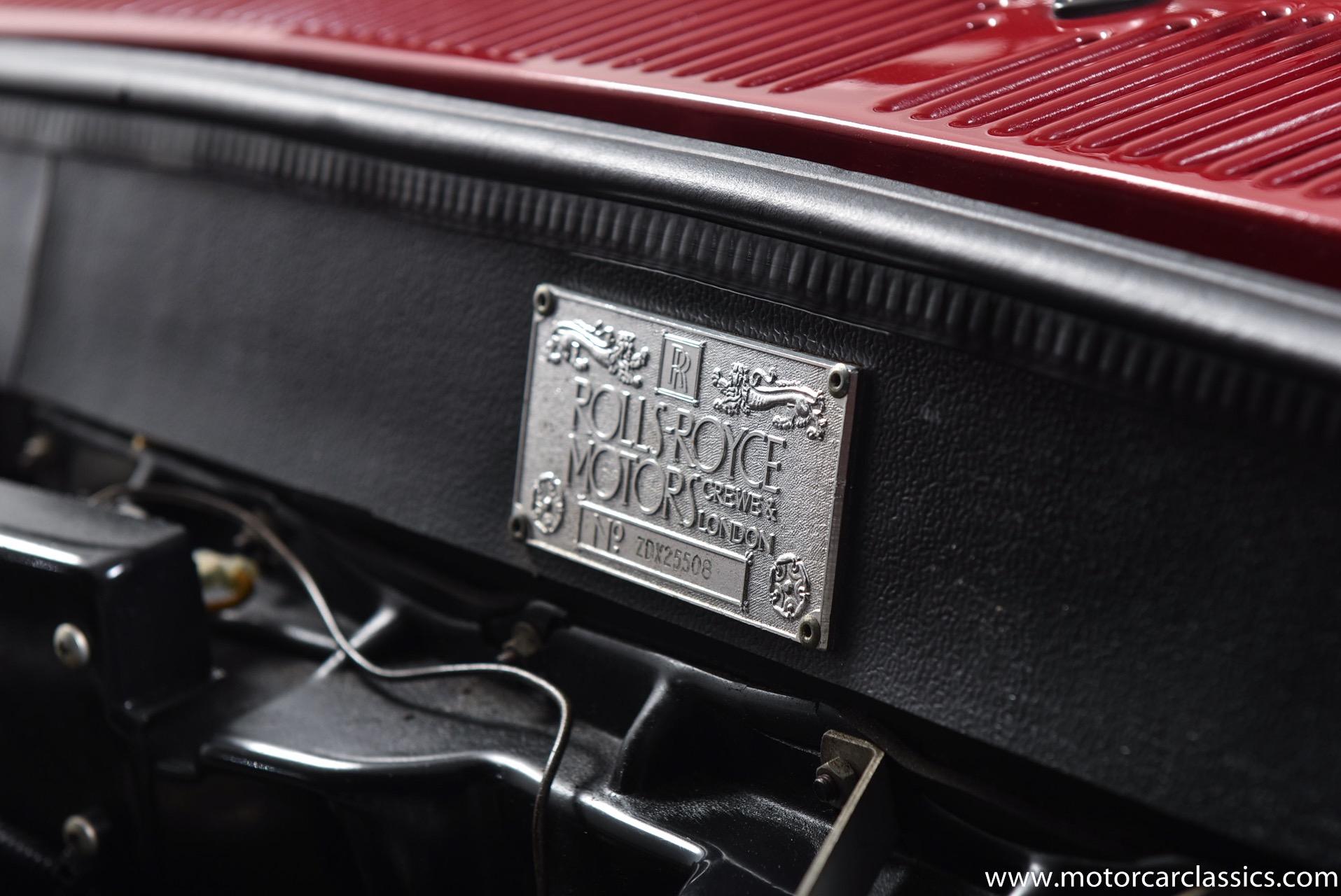 1989 Rolls-Royce Corniche Mulliner