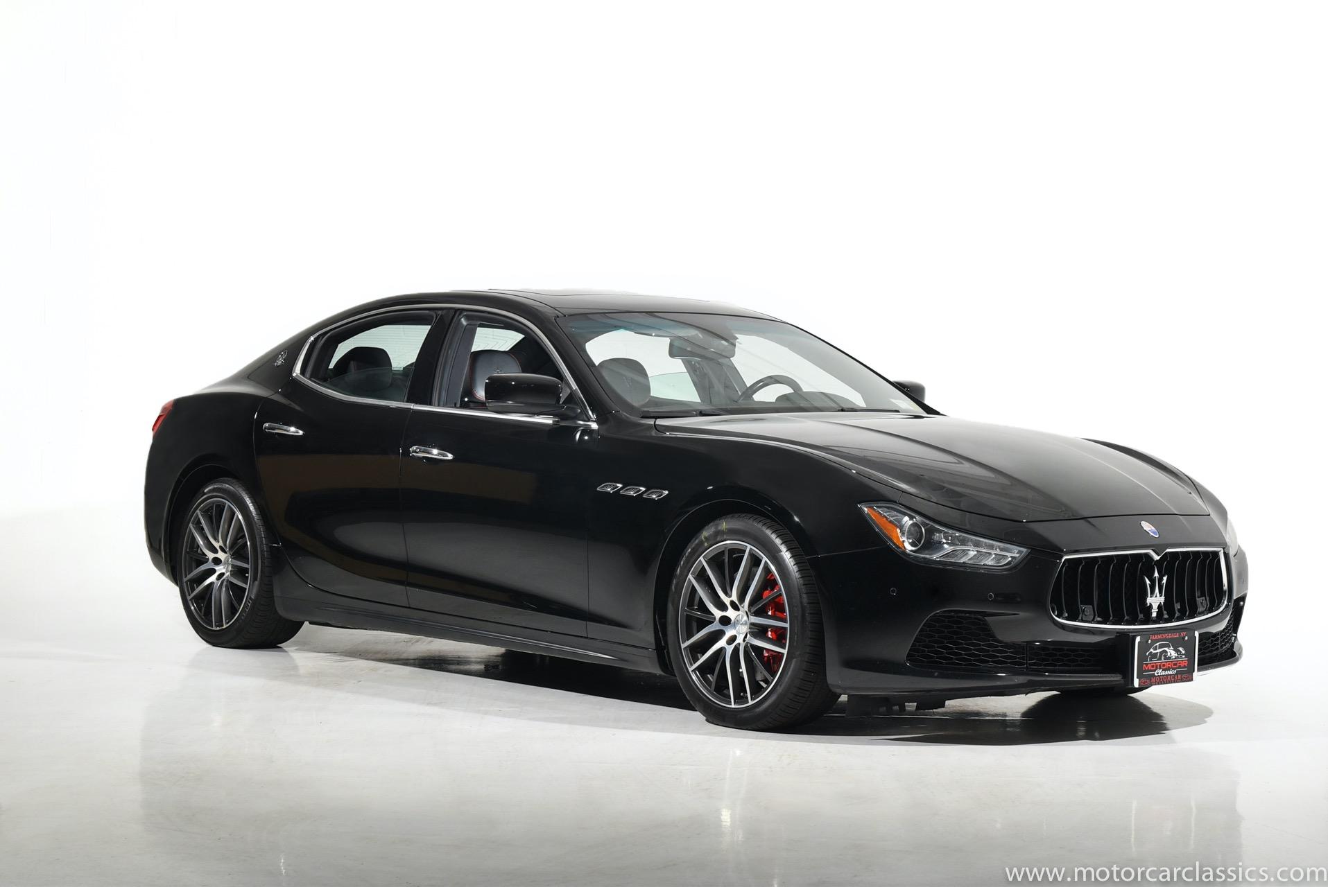 Used 2015 Maserati Ghibli S Q4 | Farmingdale, NY
