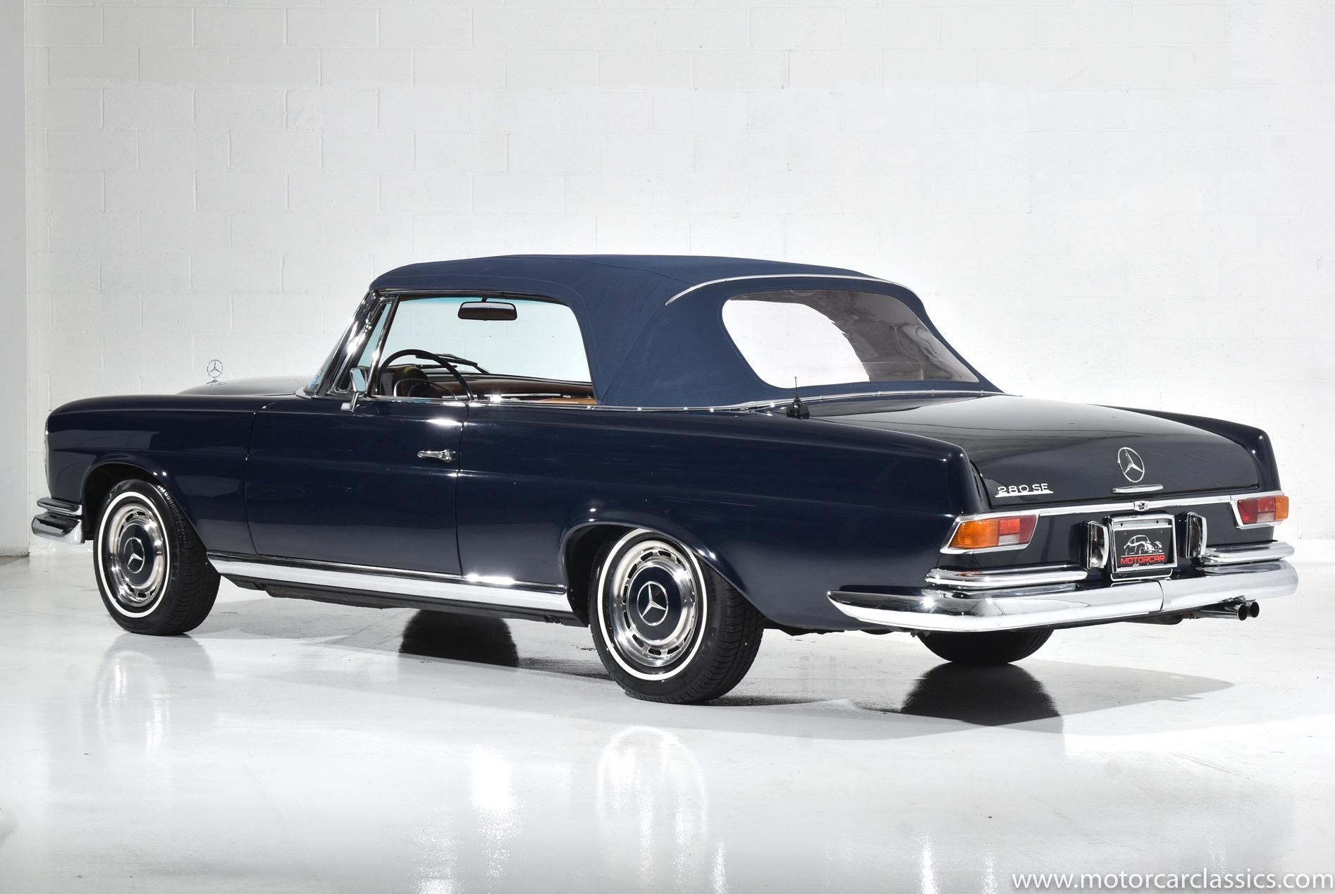 1968 Mercedes-Benz 280SE 2-Door Coupe