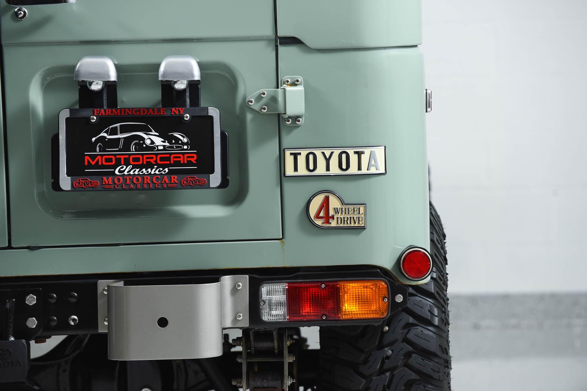 1977 Toyota Land Cruiser FJ40