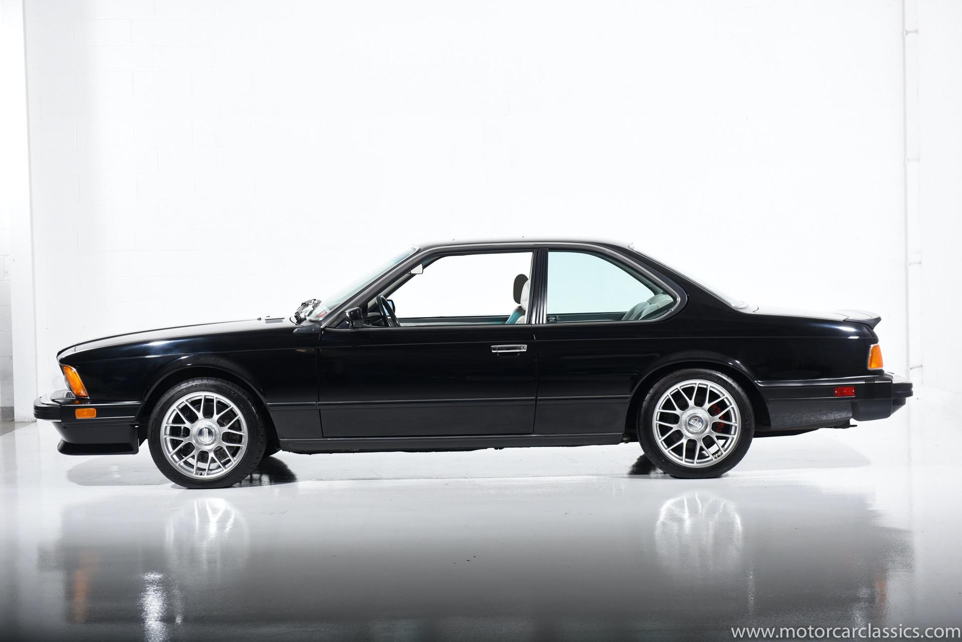 1987 BMW M6 M6